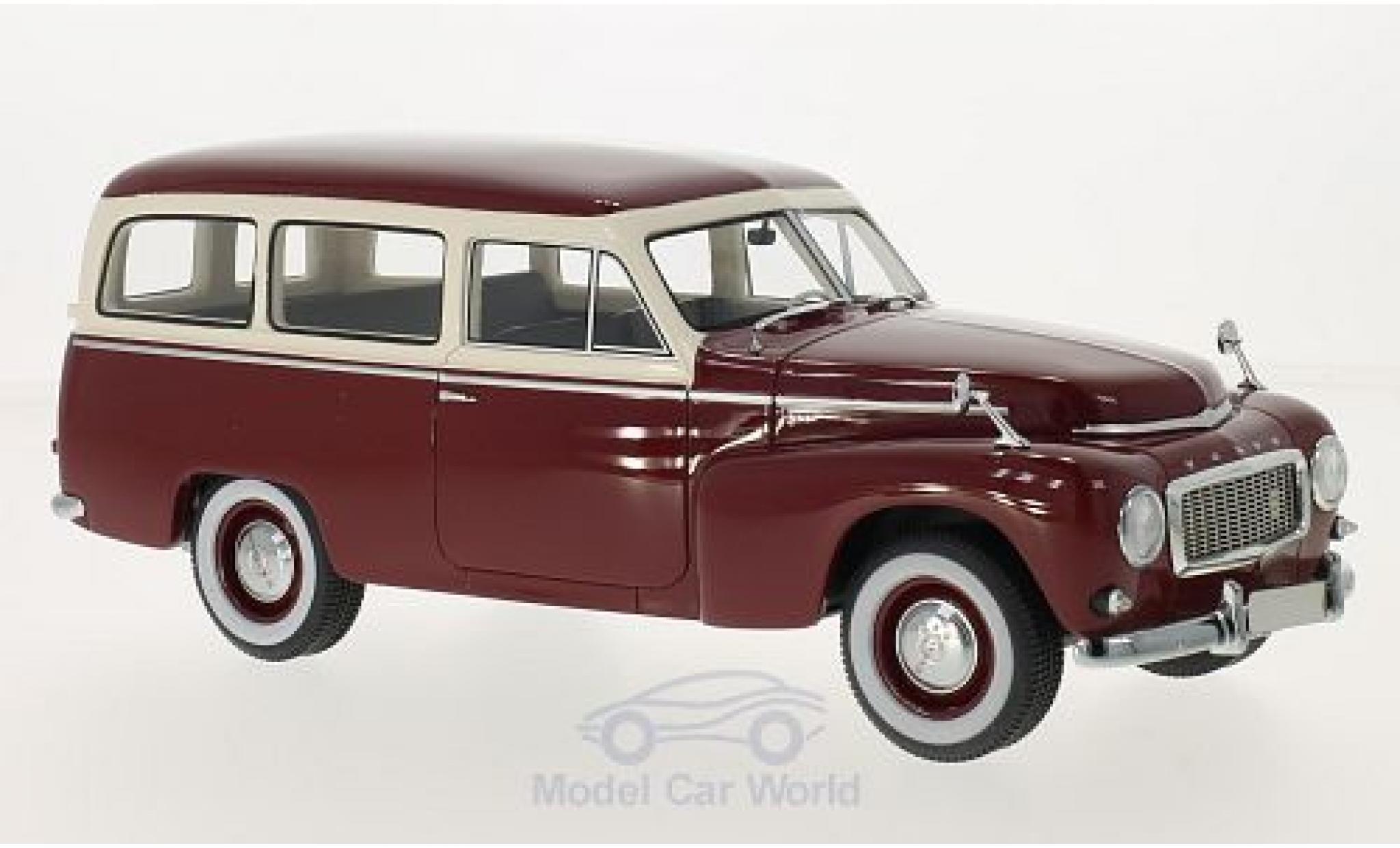 Volvo PV 1/18 BoS Models 445 Duett dunkelrouge/beige 1956