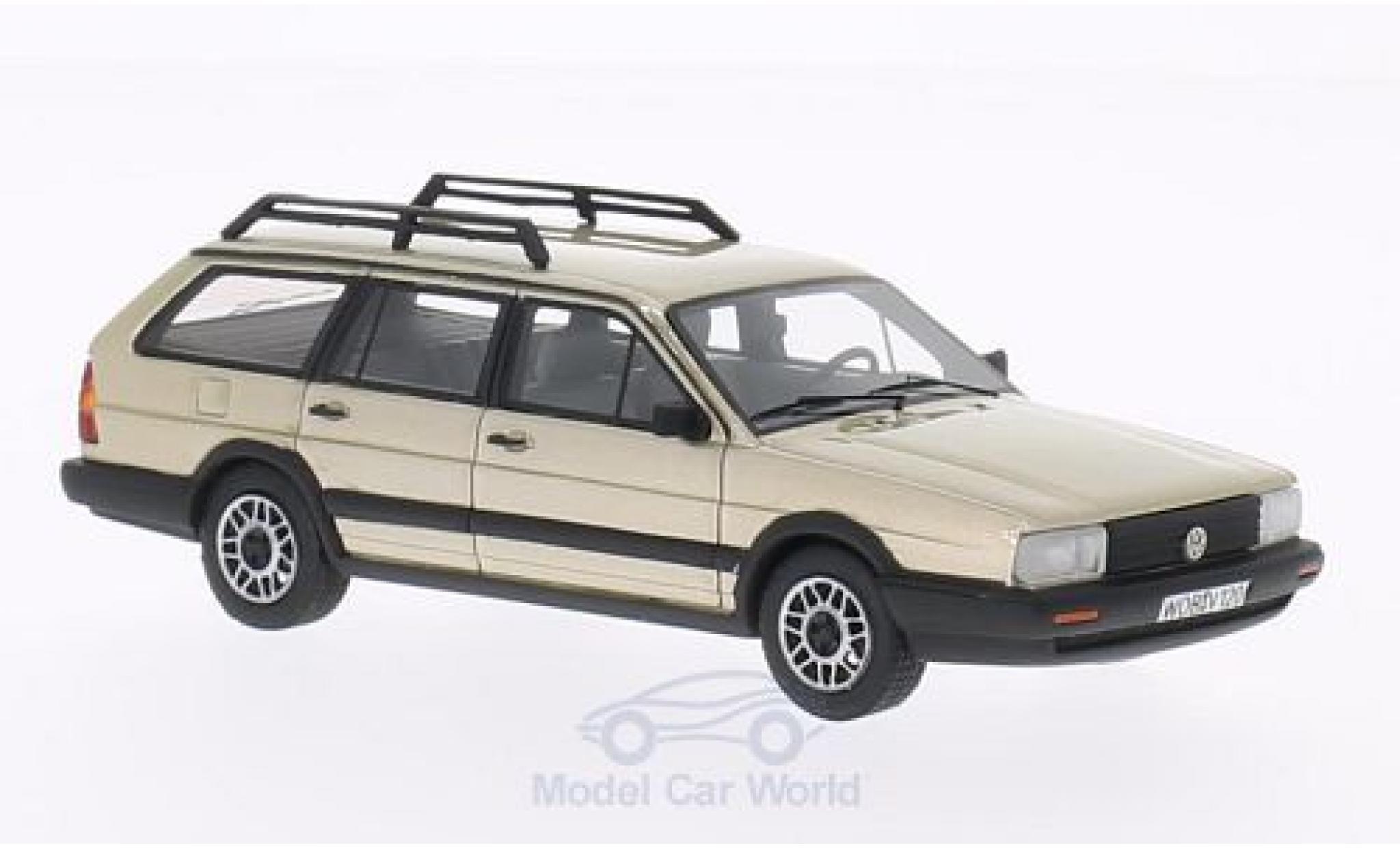 Volkswagen Passat 1/43 BoS Models Variant GT Syncro metallic beige 1985