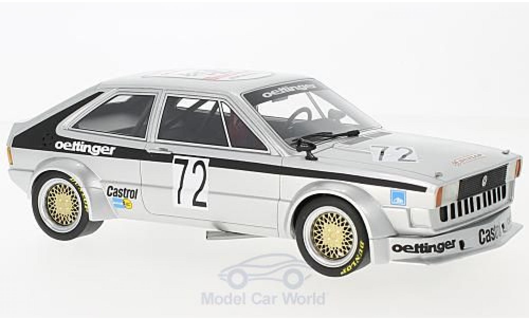 Volkswagen Scirocco 1/18 BoS Models Gr. 2 No.72 Oettinger 1975