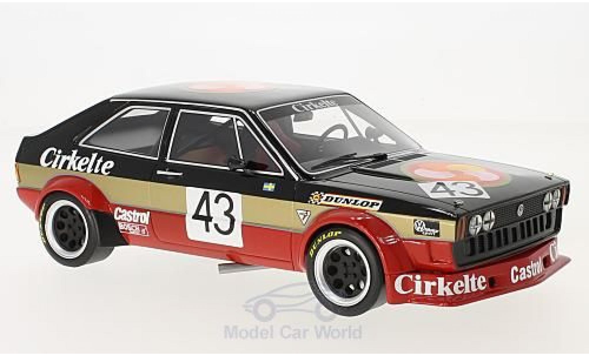 Volkswagen Scirocco 1/18 BoS Models I Gr.2 No.43 TL Racing AB Cirkelte ETCC 1979 Lindström/Wiedesheim