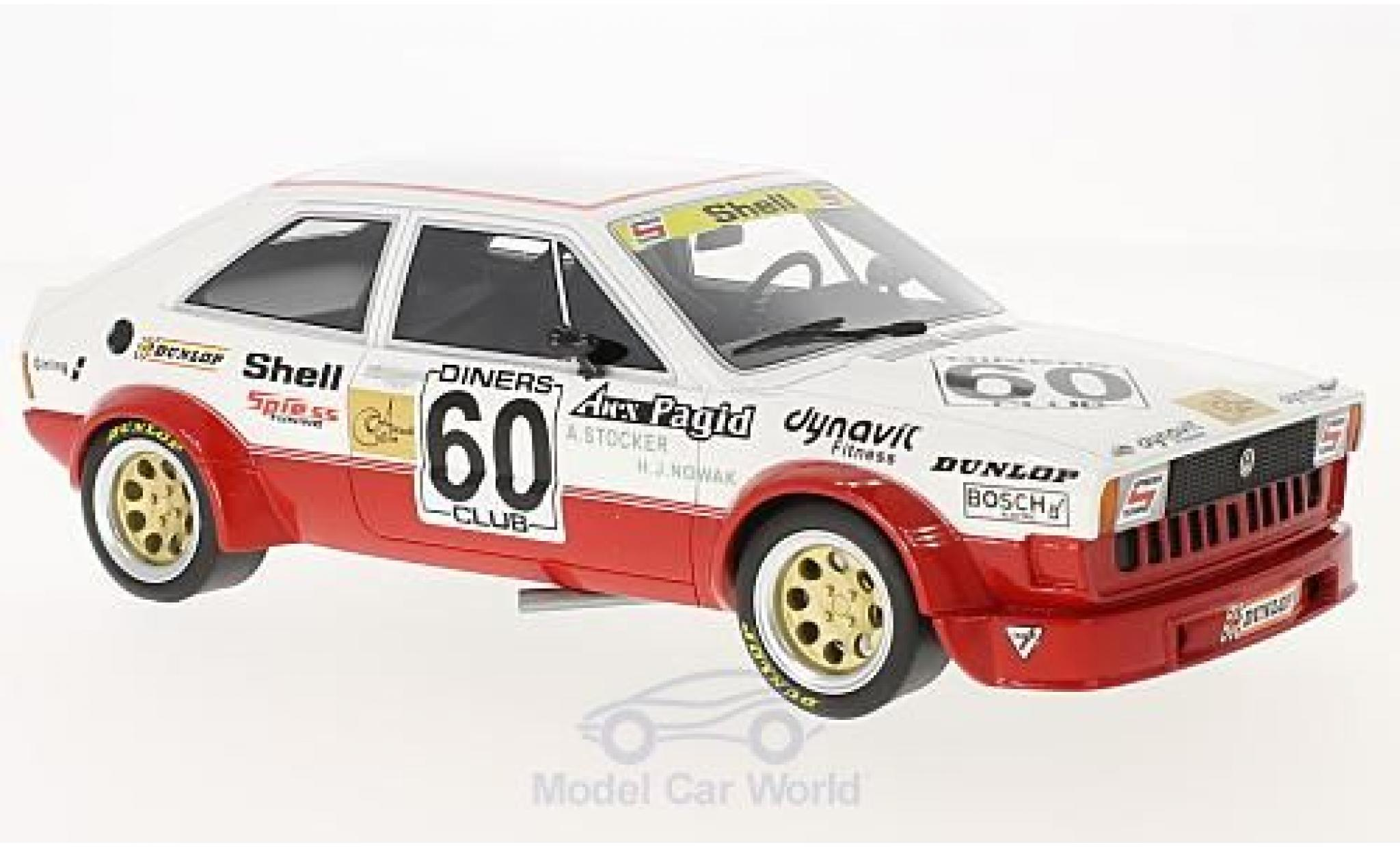 Volkswagen Scirocco 1/18 BoS Models I Gr. 2 No.60 Spiess Tuning ETCC 1978 A.Stocker/H-J.Nowak
