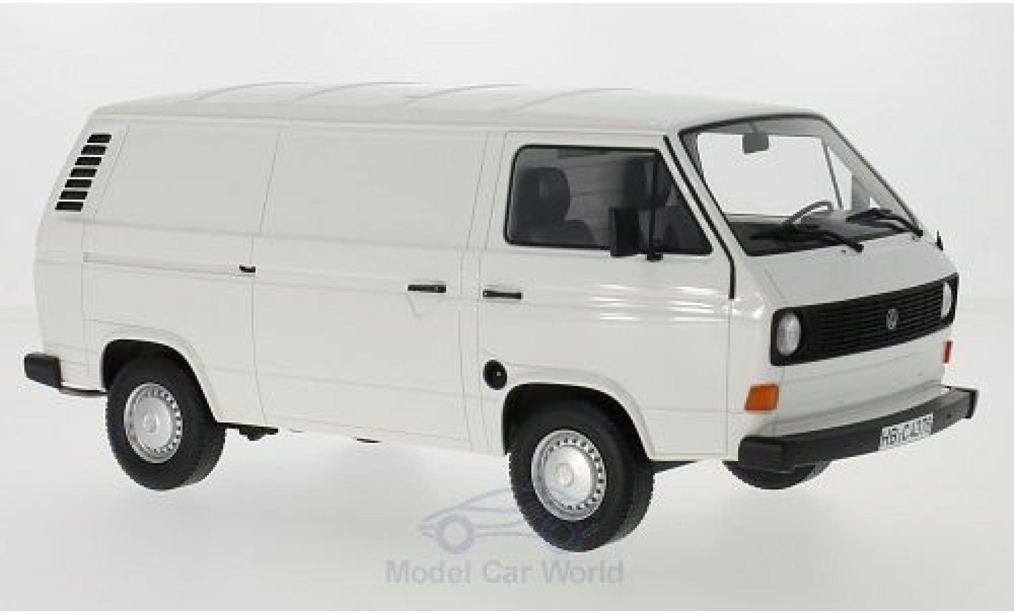 Volkswagen T3 A 1/18 BoS Models a white 1979 Kasten