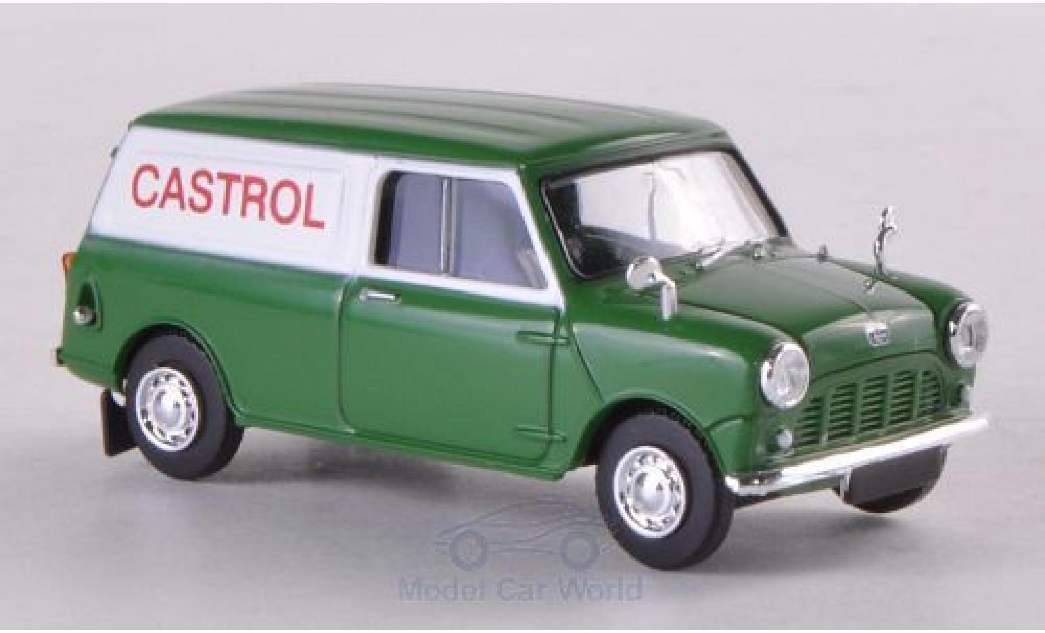 Austin Mini Van 1/87 Brekina Castrol