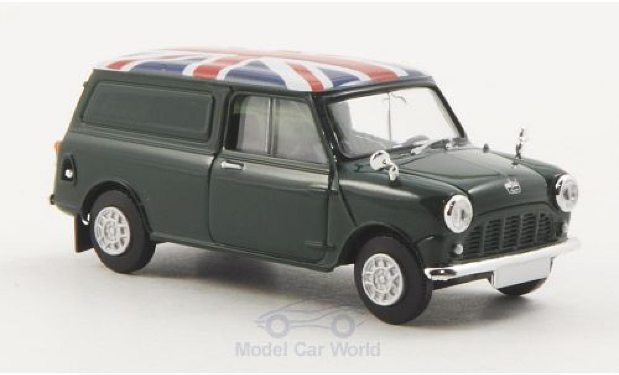 Austin Mini Van 1/87 Brekina verte Union Jack