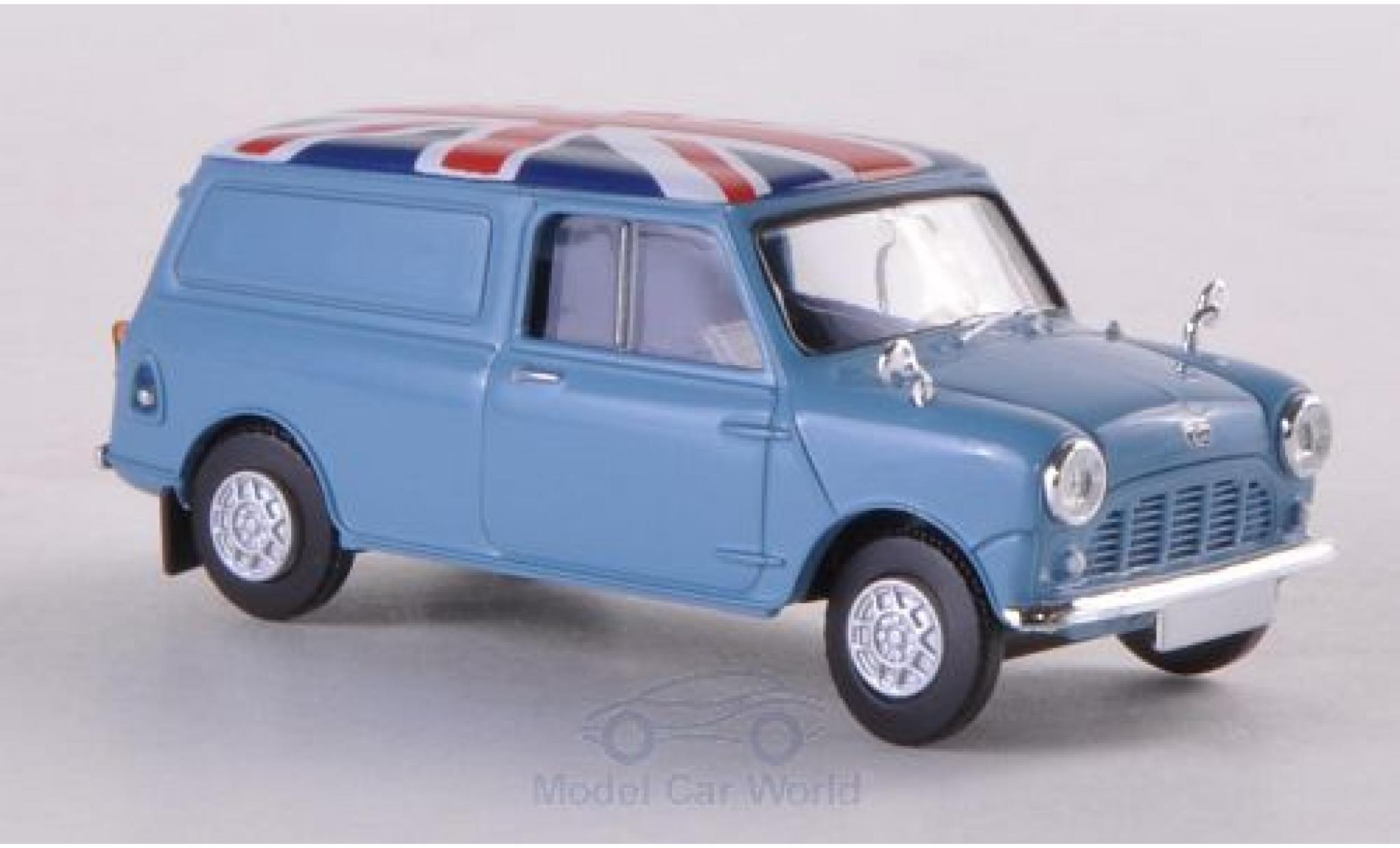 Austin Mini Van 1/87 Brekina hellbleue/Dekor
