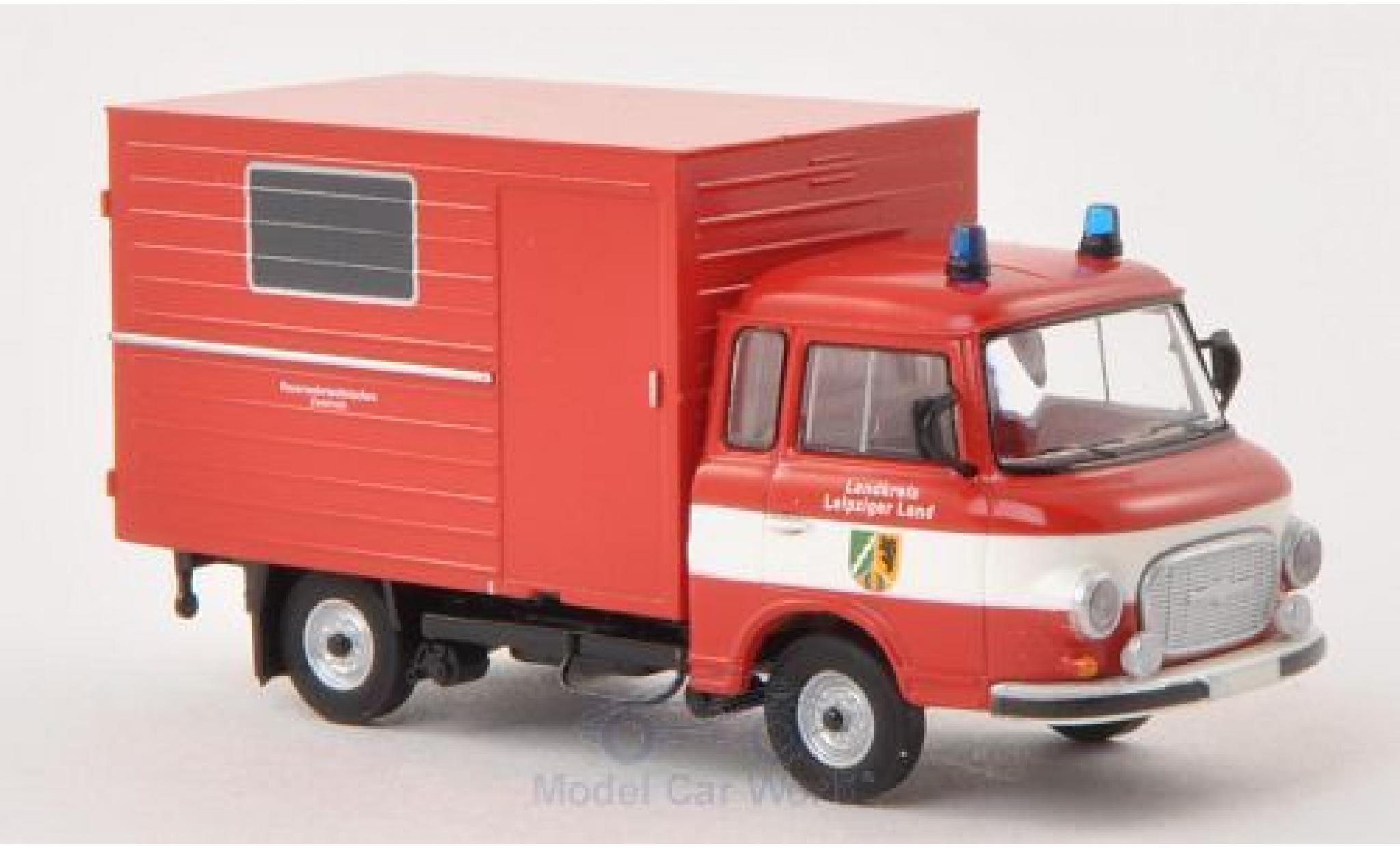 Barkas B 1000 1/87 Brekina Koffer Feuerwehr Leipziger Land