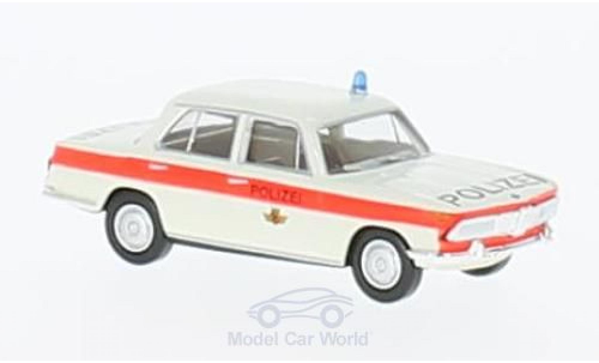 Bmw 2000 1/87 Brekina Polizei Bern