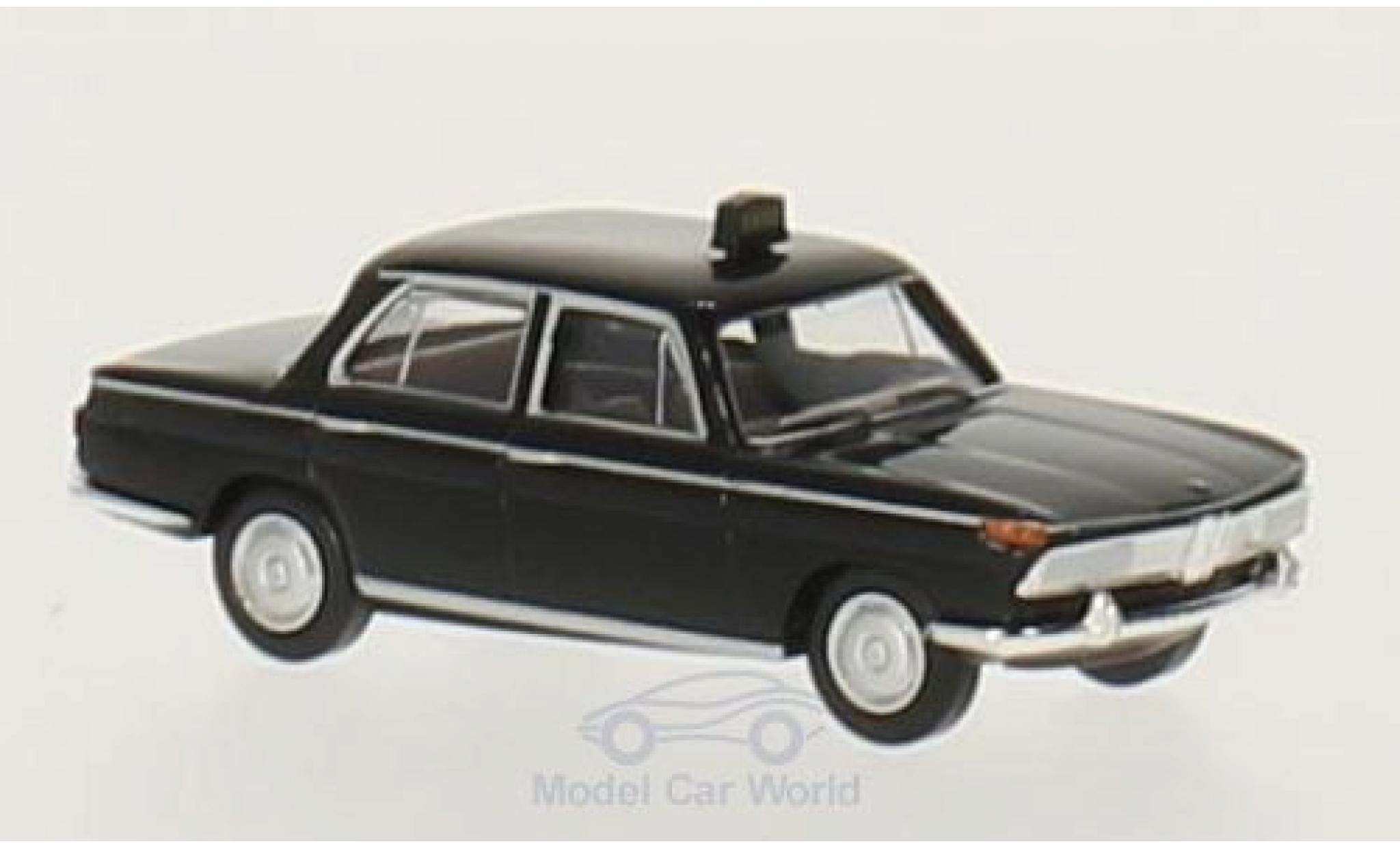 Bmw 2000 1/87 Brekina noire Taxi