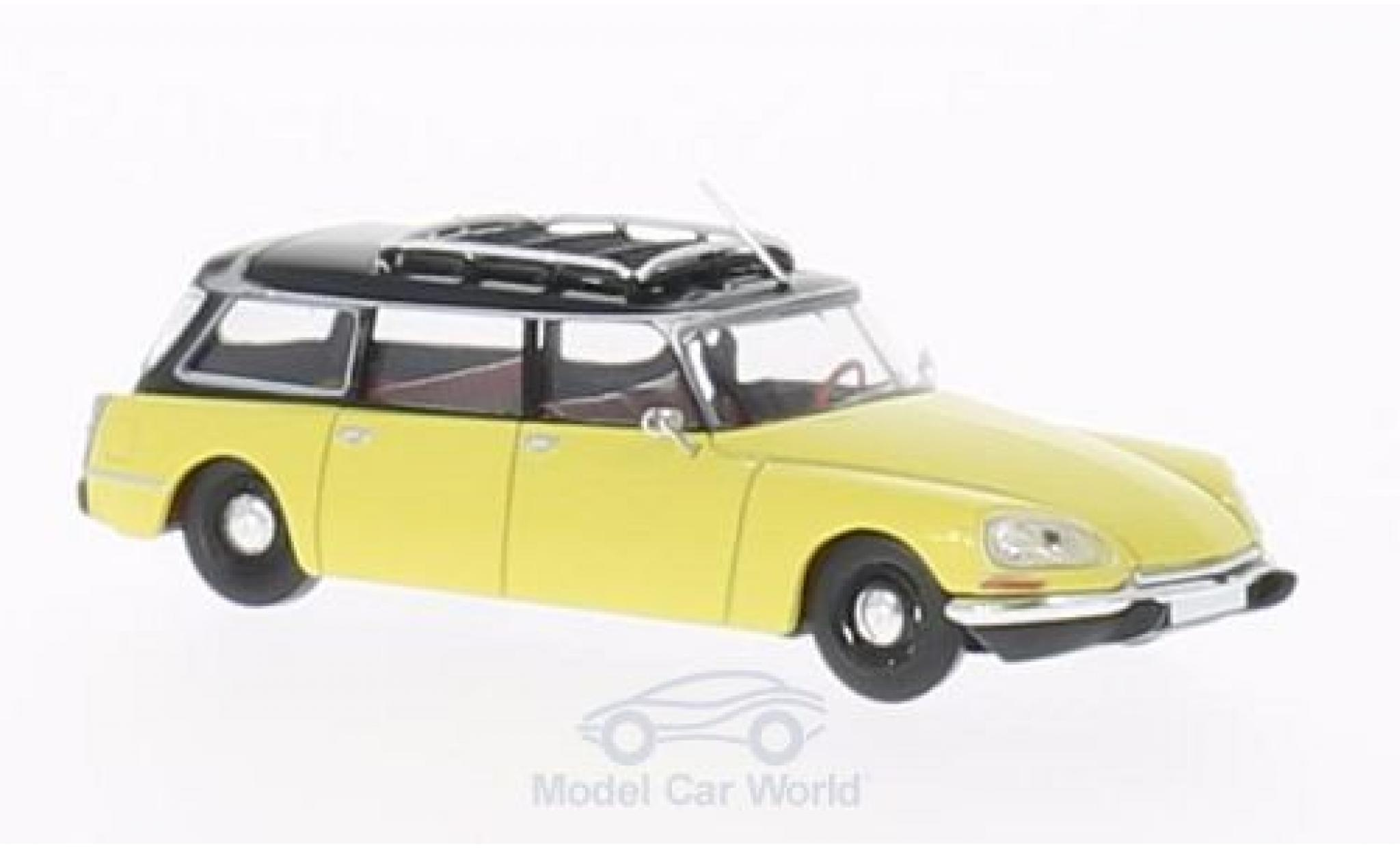 Citroen DS 1/87 Brekina Break jaune/noire