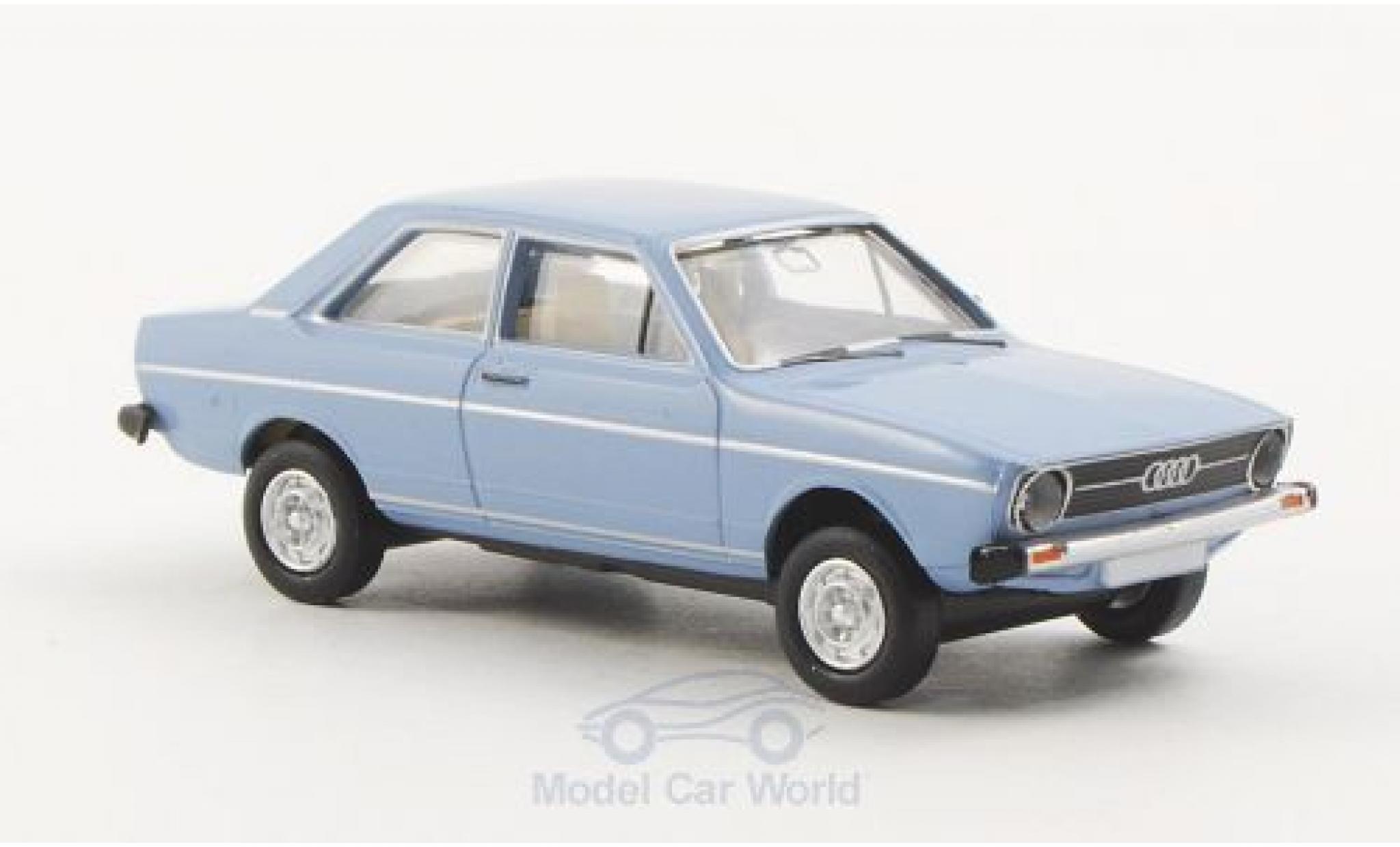 Audi 80 1/87 Brekina L bleue