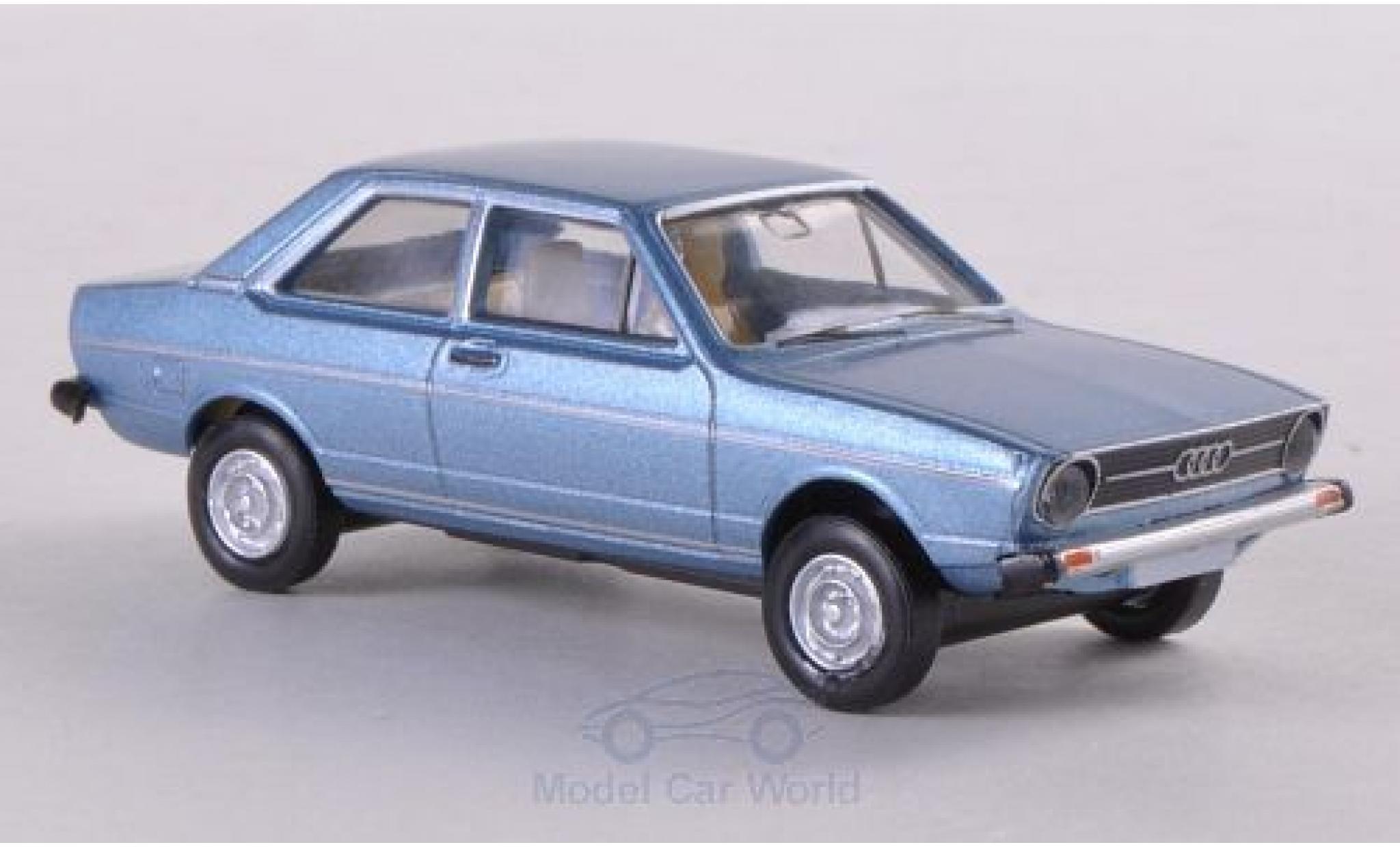 Audi 80 1/87 Brekina metallise bleue