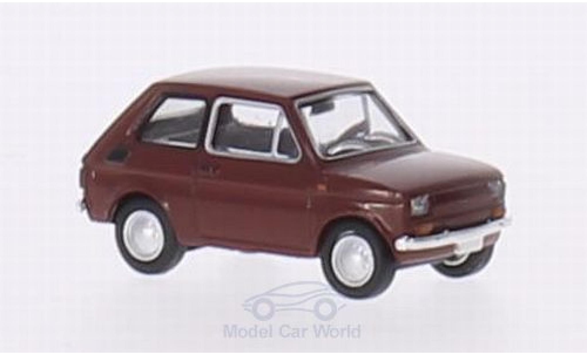 Fiat 126 1/87 Brekina Drummer red