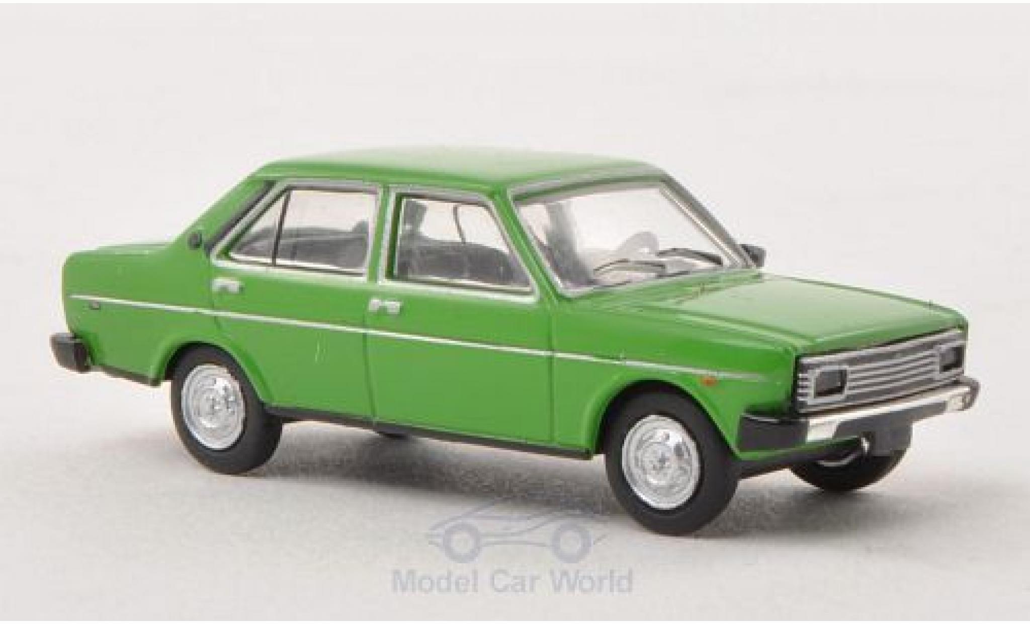 Fiat 131 1/87 Brekina Drummer Mirafiori green green Ausführung mit Rechteckscheinwerfern