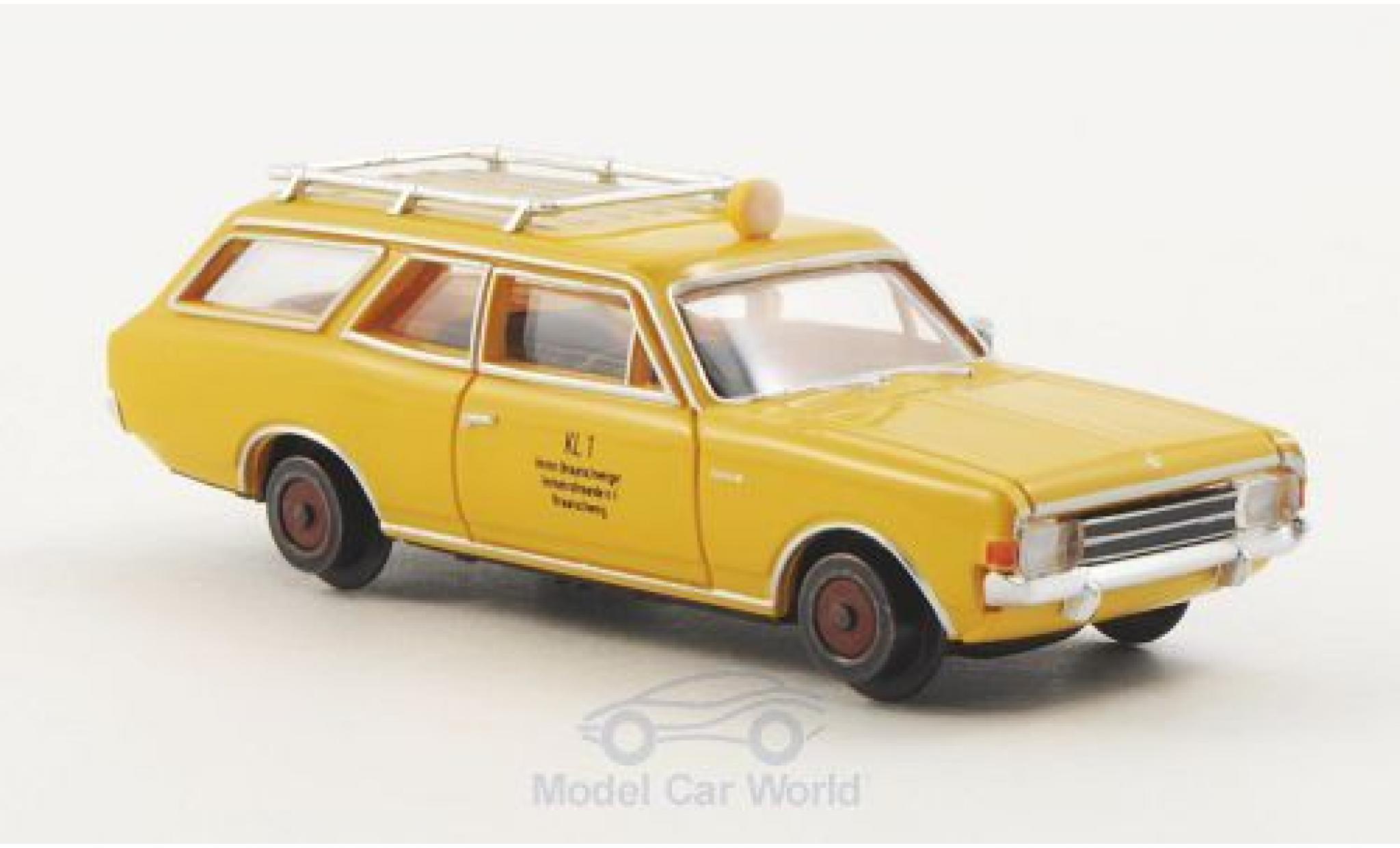 Opel Rekord 1/87 Brekina Drummer C Draisine Verkehrsfreunde