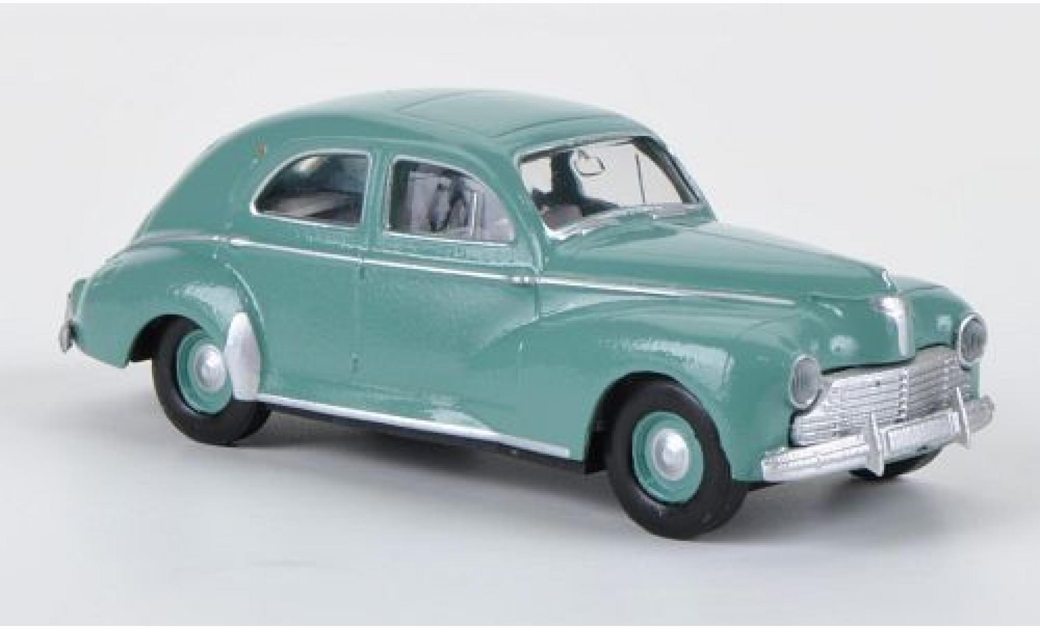 Peugeot 203 1/87 Brekina Berline turquoise