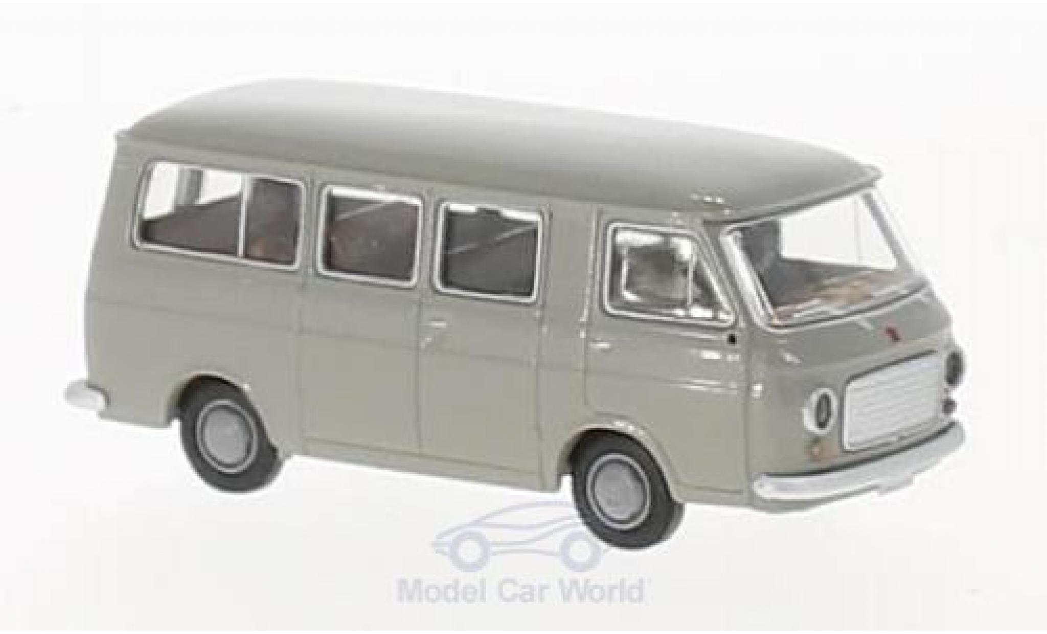 Fiat 238 1/87 Brekina Bus grey