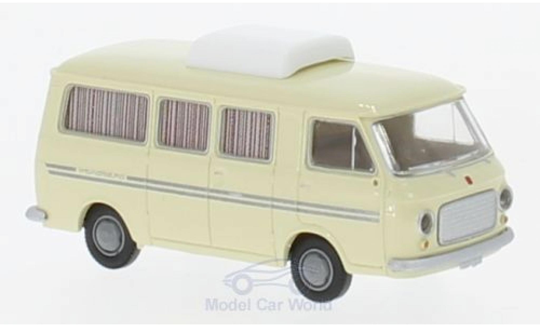 Fiat 238 1/87 Brekina Camper Weinsberg beige