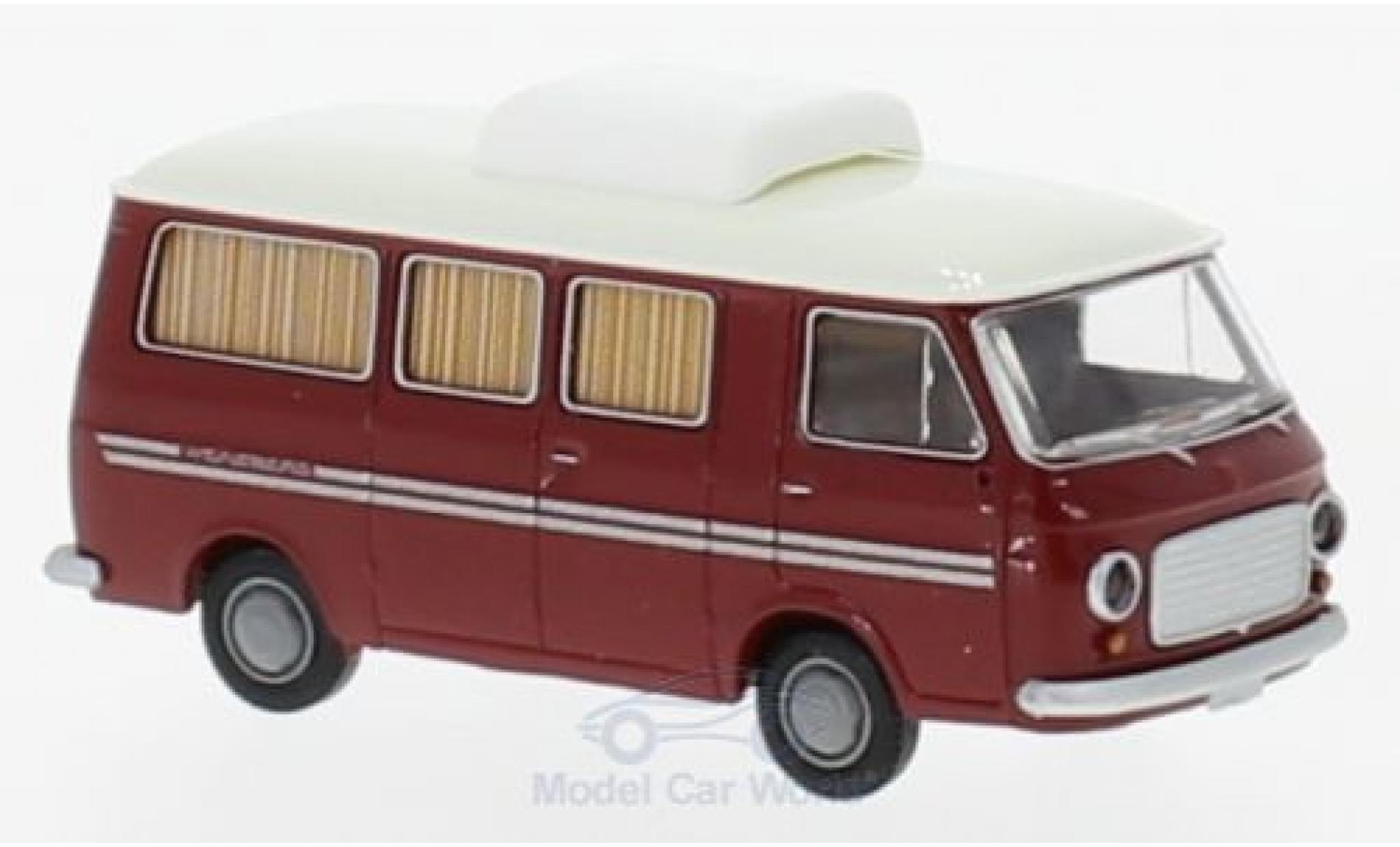 Fiat 238 1/87 Brekina Camper Weinsberg red