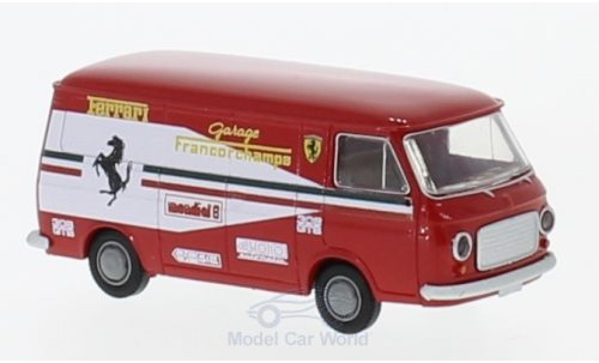 Fiat 238 1/87 Brekina Kasten Ferrari