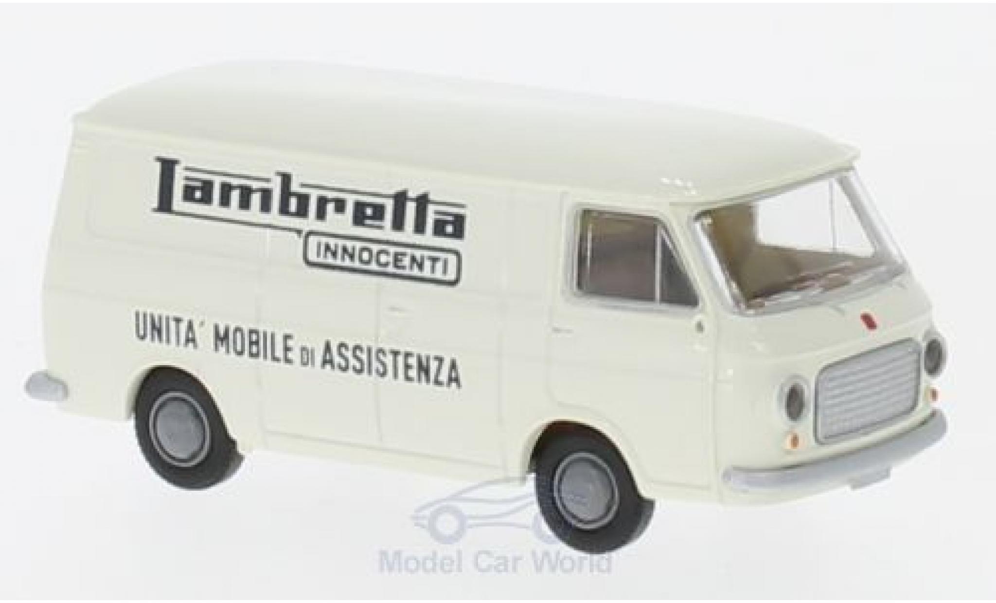 Fiat 238 1/87 Brekina Kasten Lambretta-Innocenti