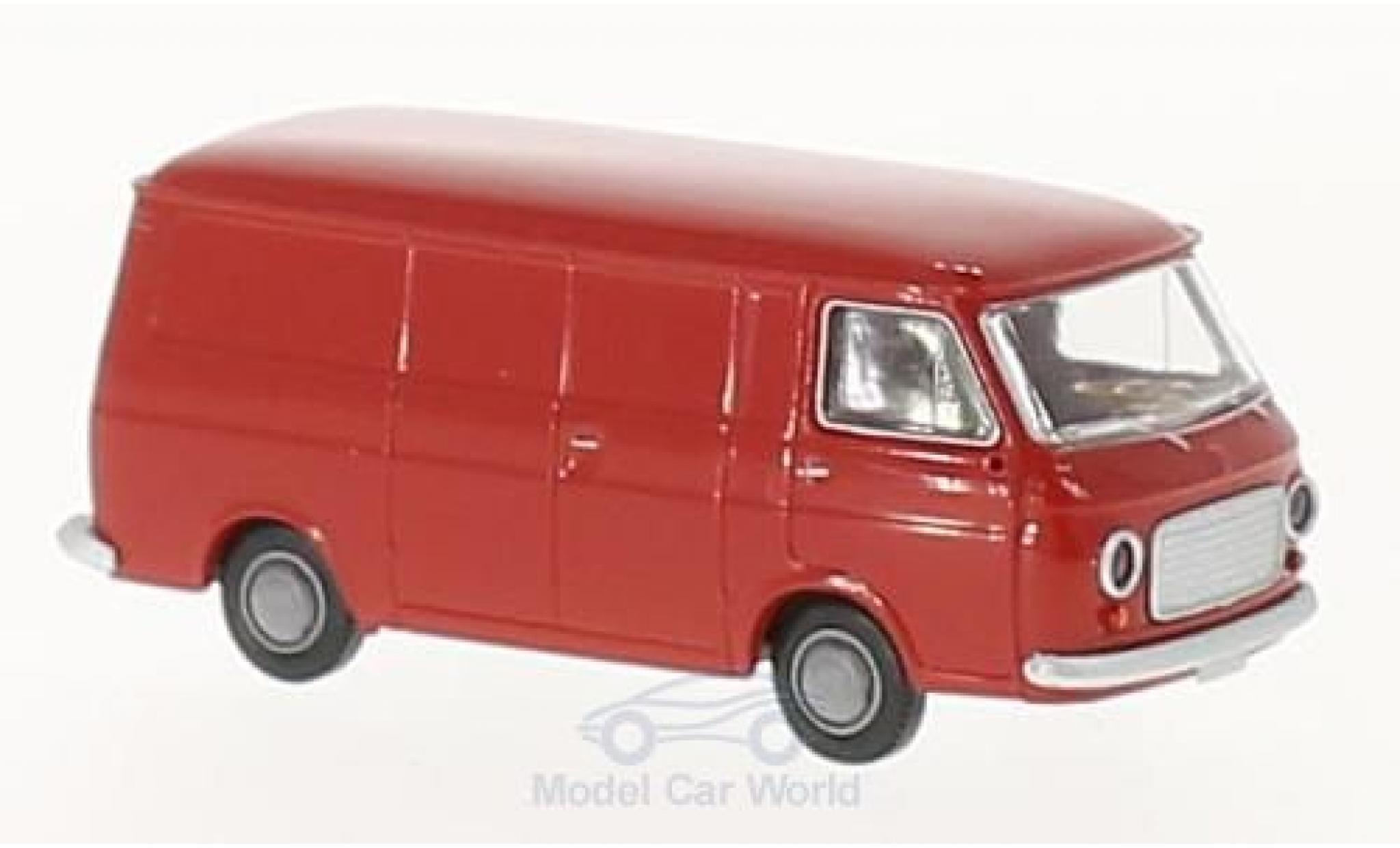 Fiat 238 1/87 Brekina Kastenwagen red