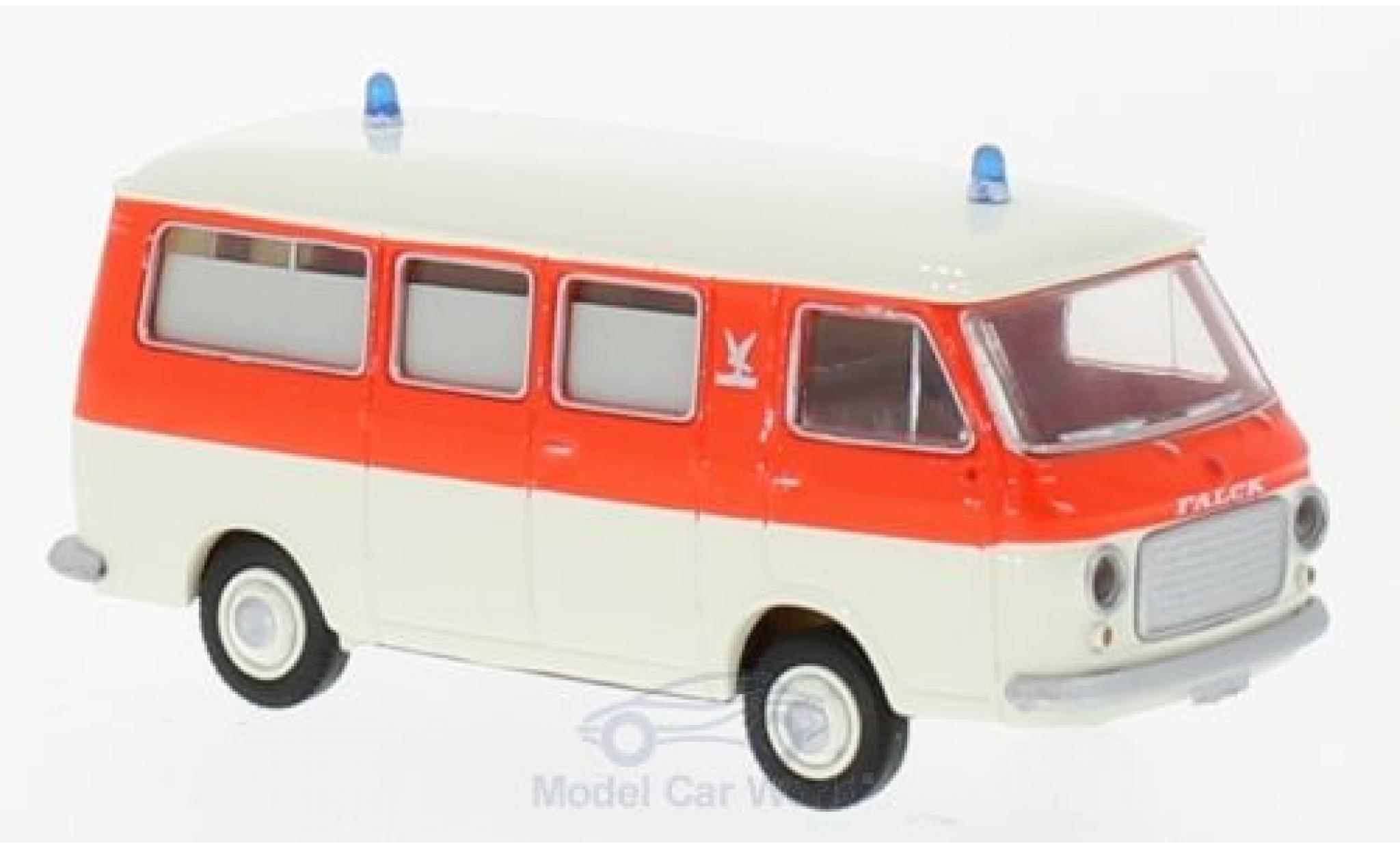 Fiat 238 1/87 Brekina rouge/blanche Falck Krankenwagen