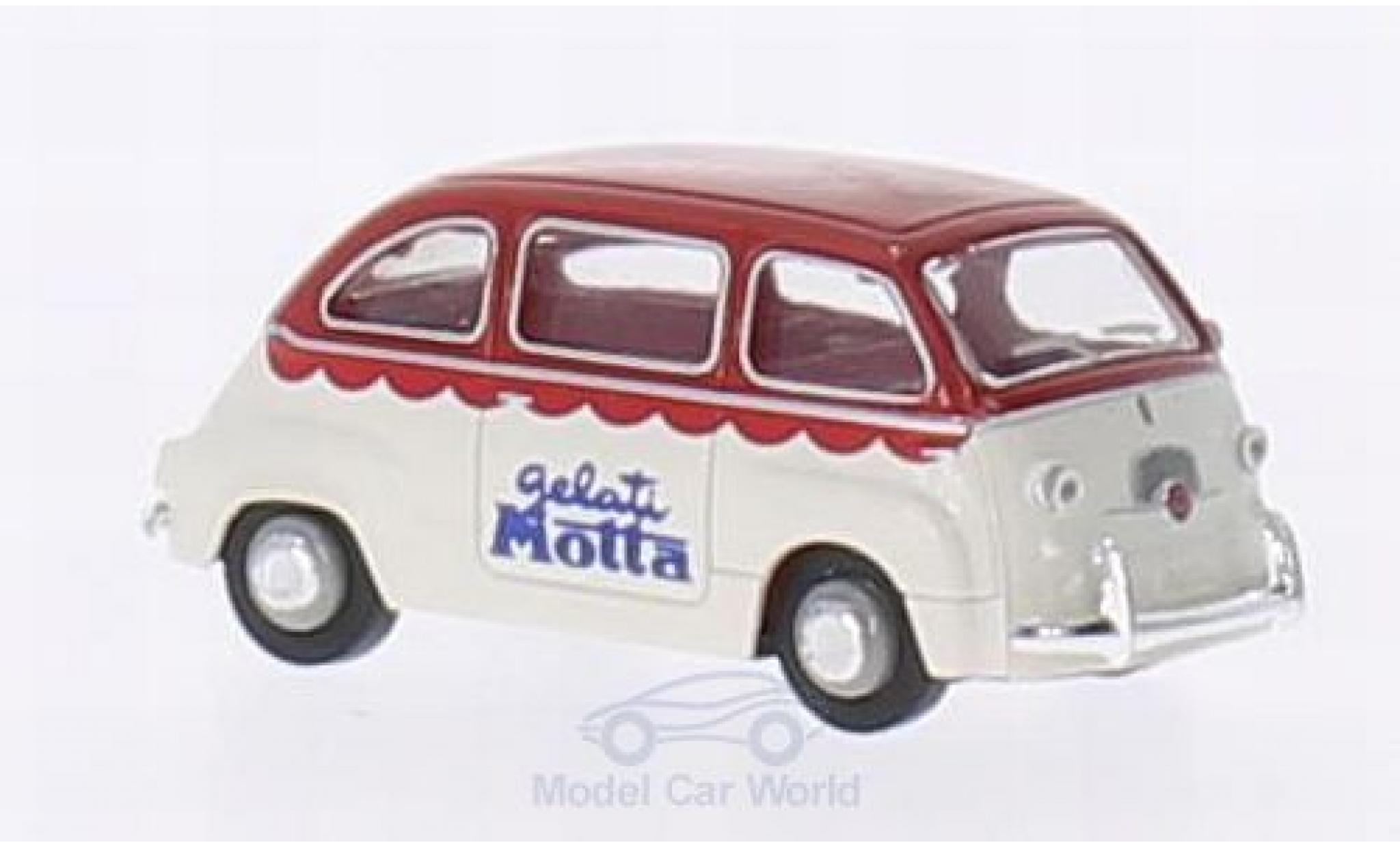 Fiat Multipla 1/87 Brekina Gelati Motta