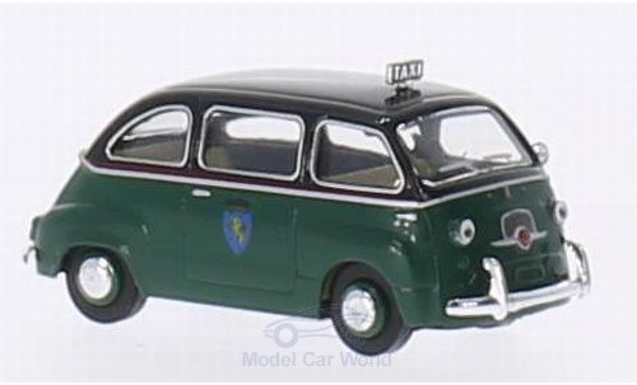 Fiat Multipla 1/87 Brekina Taxi Turin / Torino (I)