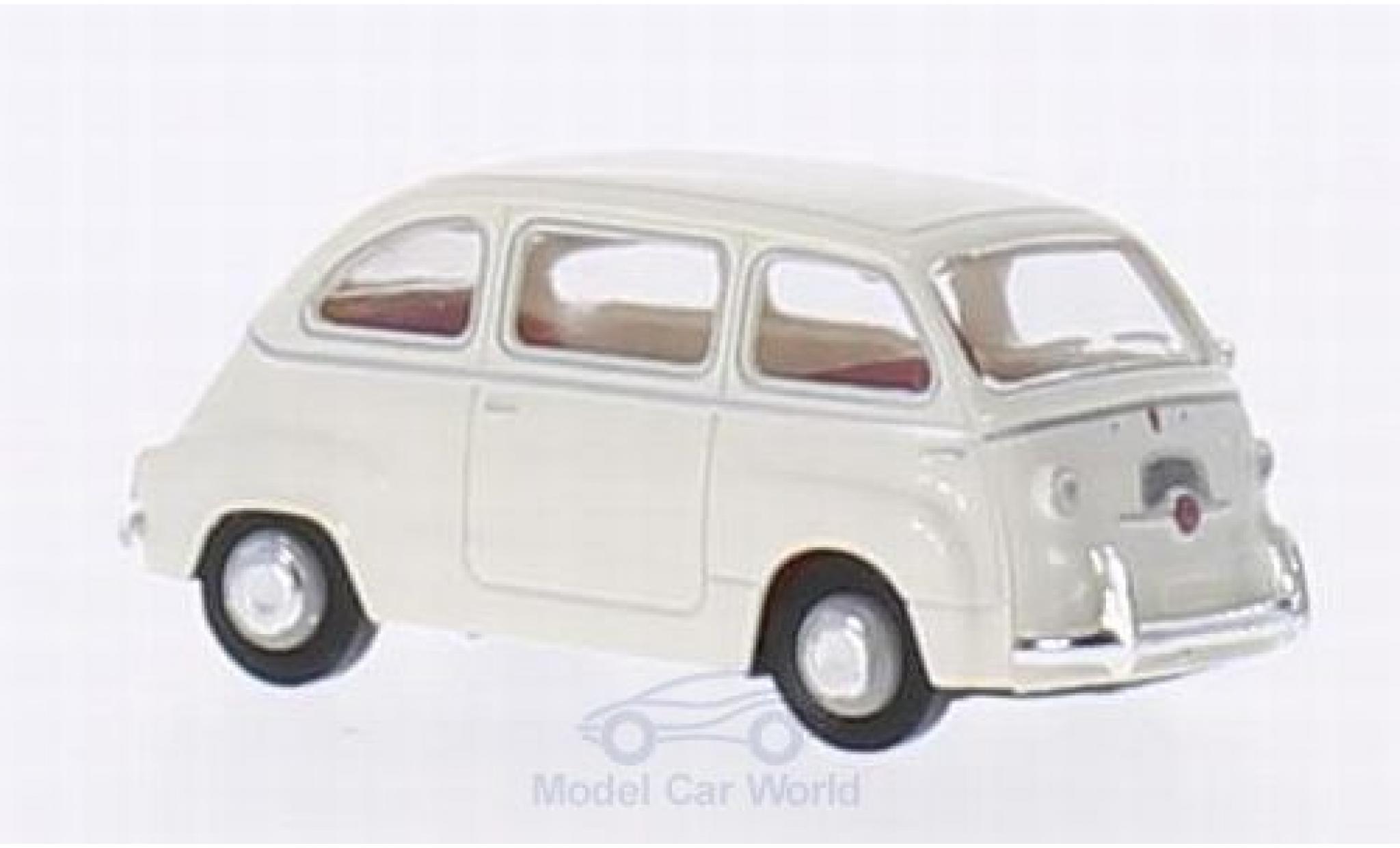 Fiat Multipla 1/87 Brekina white
