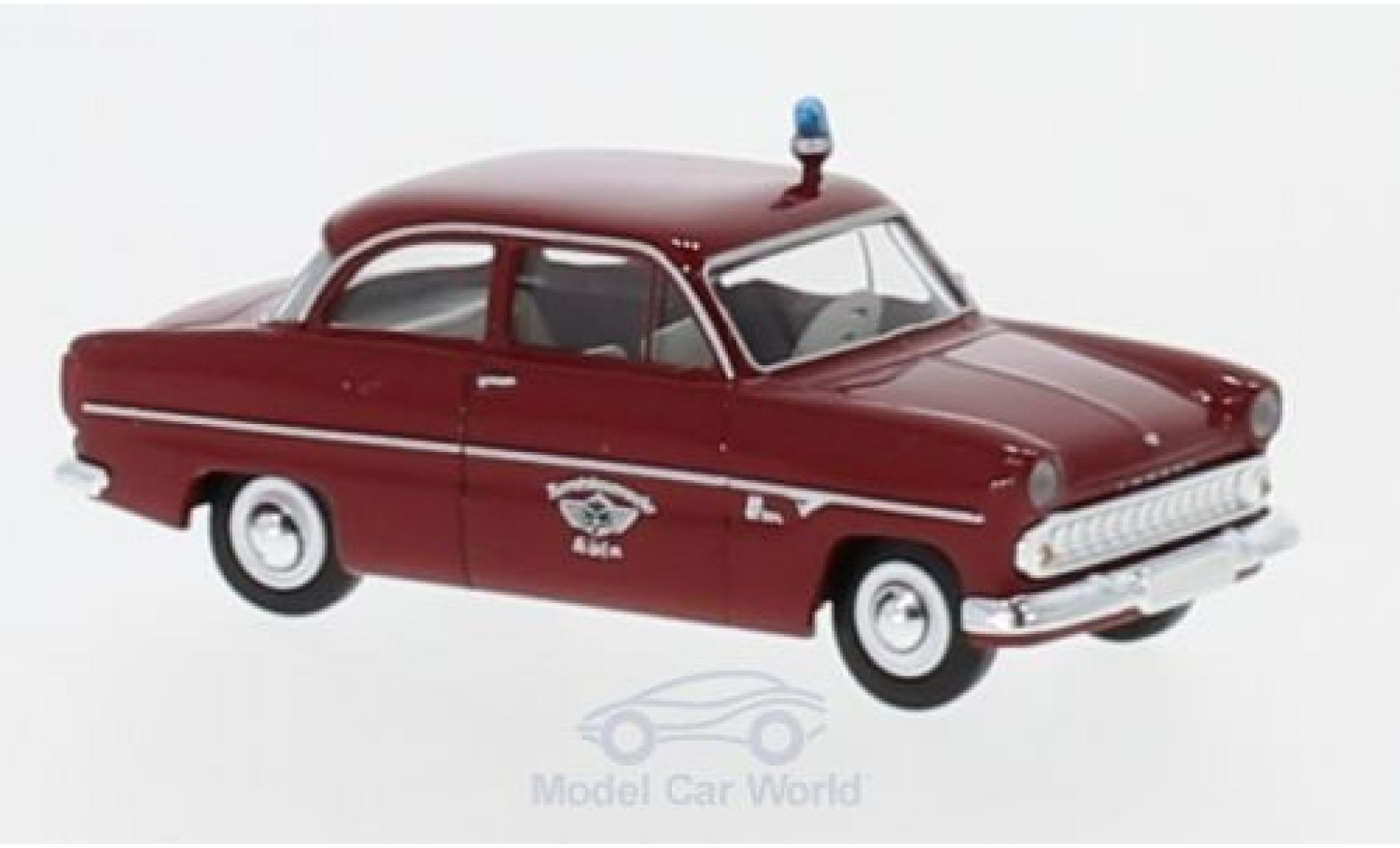 Ford 12M 1/87 Brekina Berufsfeuerwehr Köln