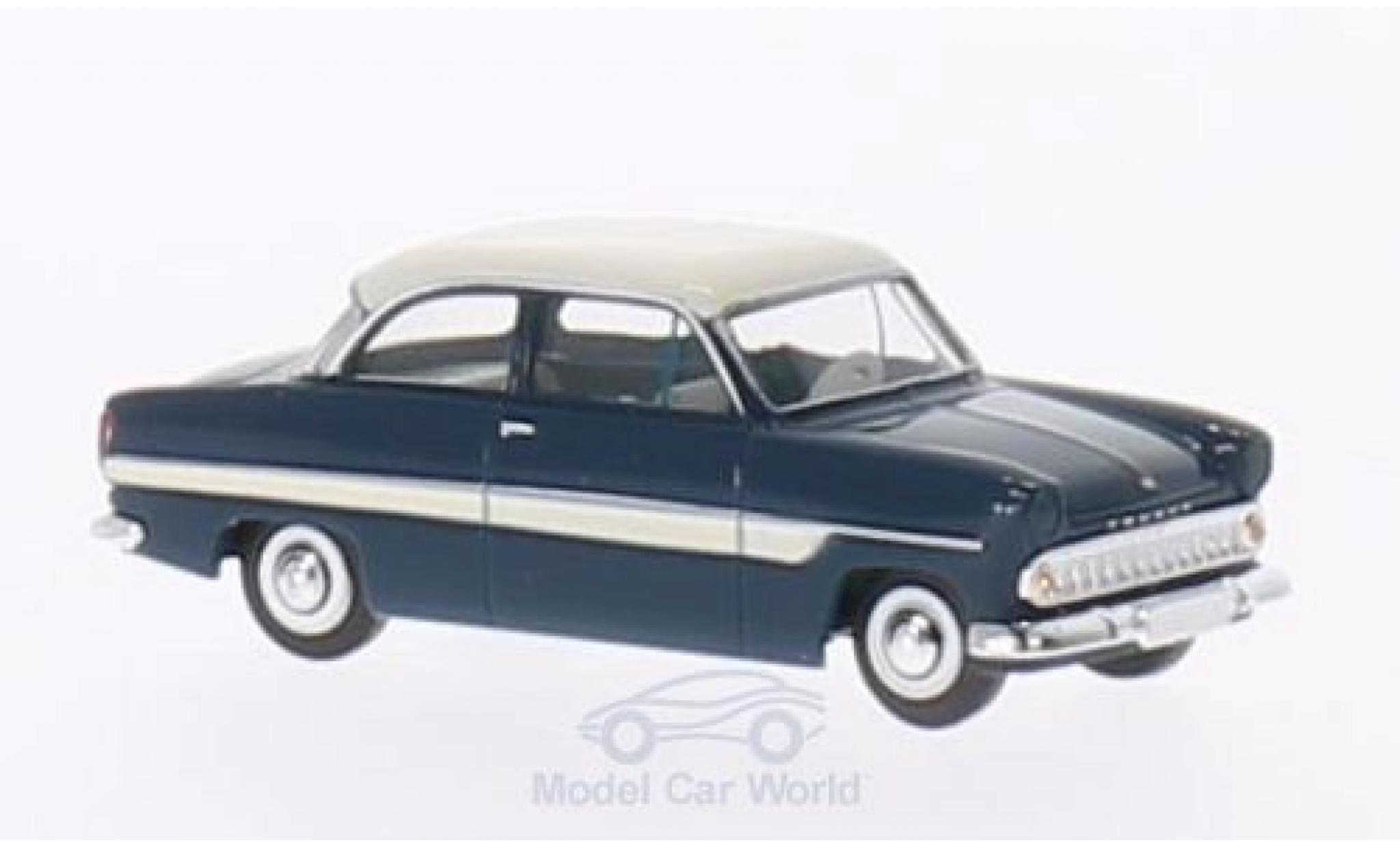 Ford 12M 1/87 Brekina 12m blue/white