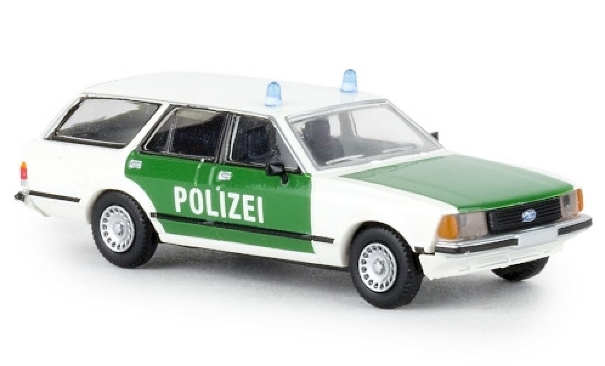 Ford Granada 1/87 Brekina II Turnier Polizei 1977