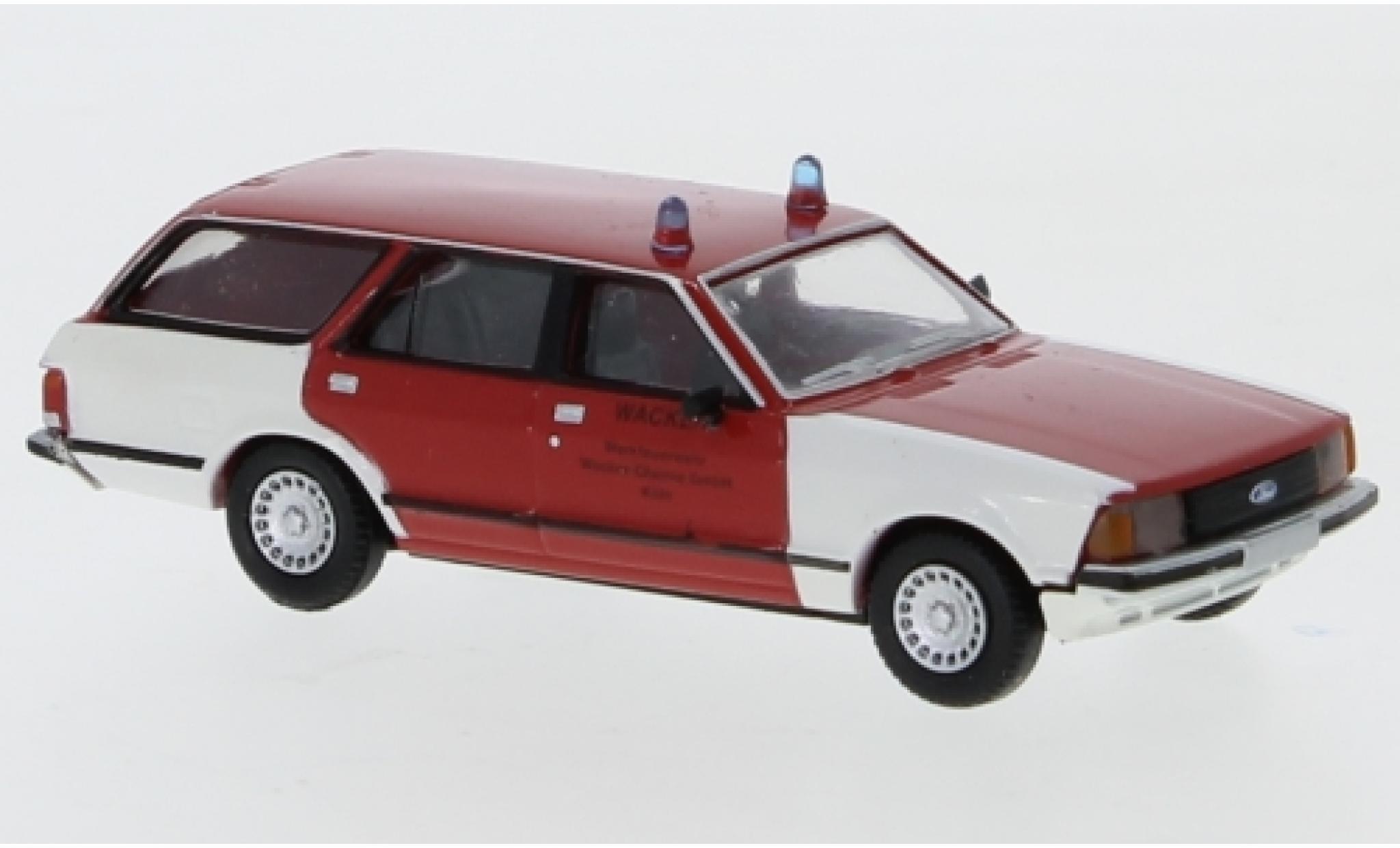 Ford Granada 1/87 Brekina II Turnier Werkfeuerwehr Wacker Chemie 1977