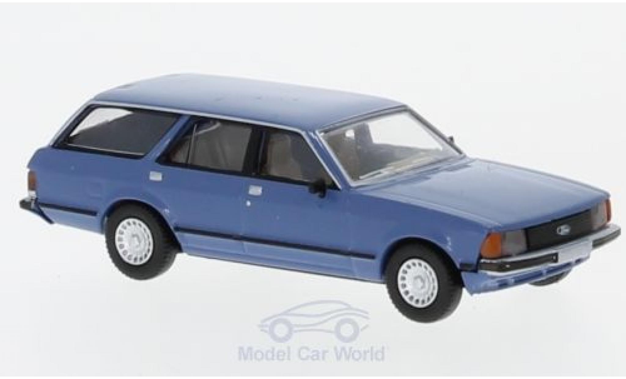 Ford Granada 1/87 Brekina MKII Turnier blue 1978
