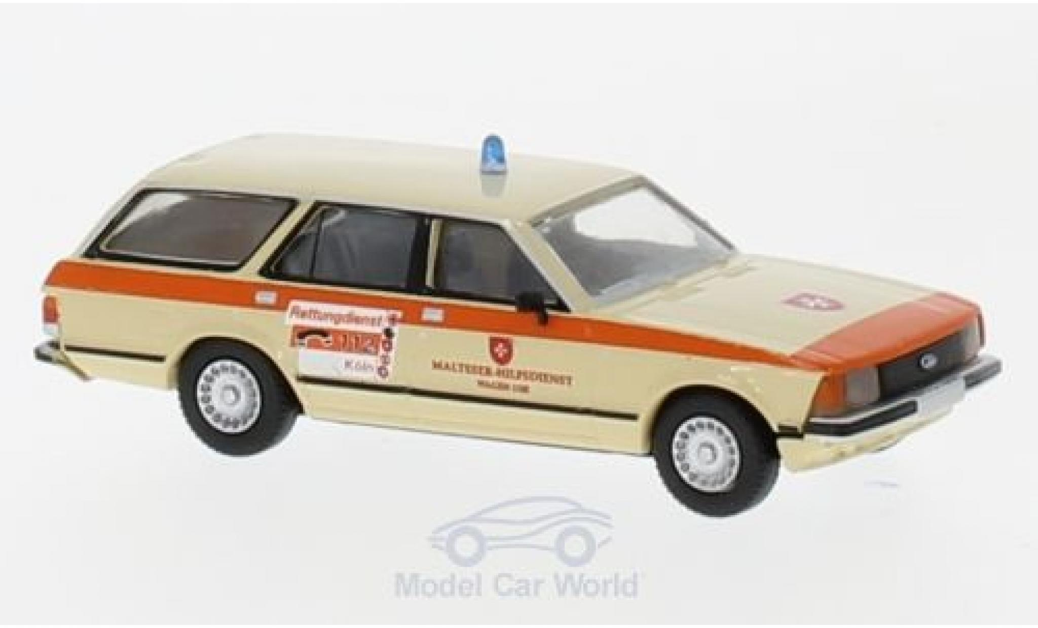 Ford Granada 1/87 Brekina Turnier Malteser Köln