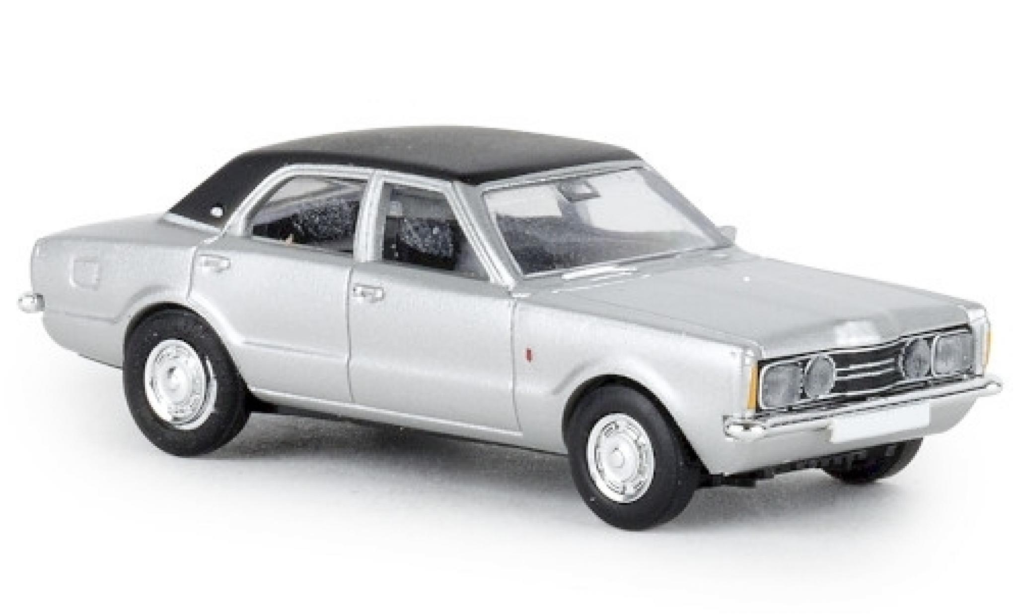 Ford Taunus 1/87 Brekina GXL grise/noire 1972