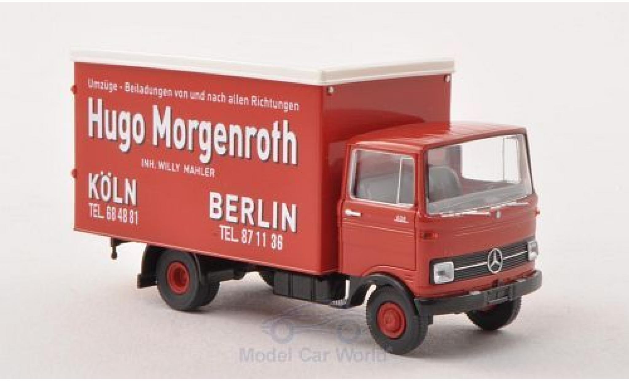 Mercedes LP 608 1/87 Brekina Hugo Morgenrougeh -