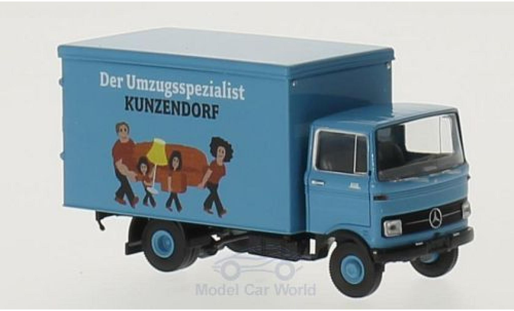 Mercedes LP 608 1/87 Brekina Koffer Kunzendorf