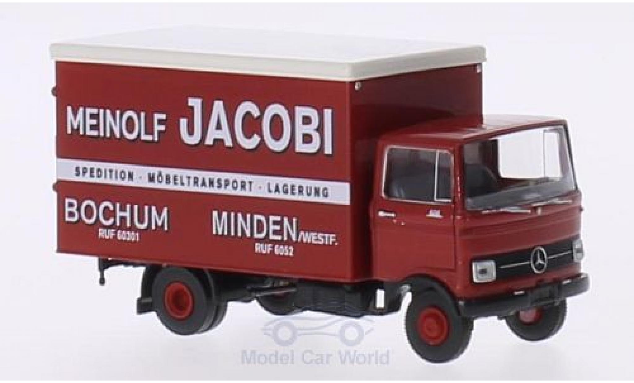 Mercedes LP 608 1/87 Brekina Koffer Meinolf Jacobi Bochum