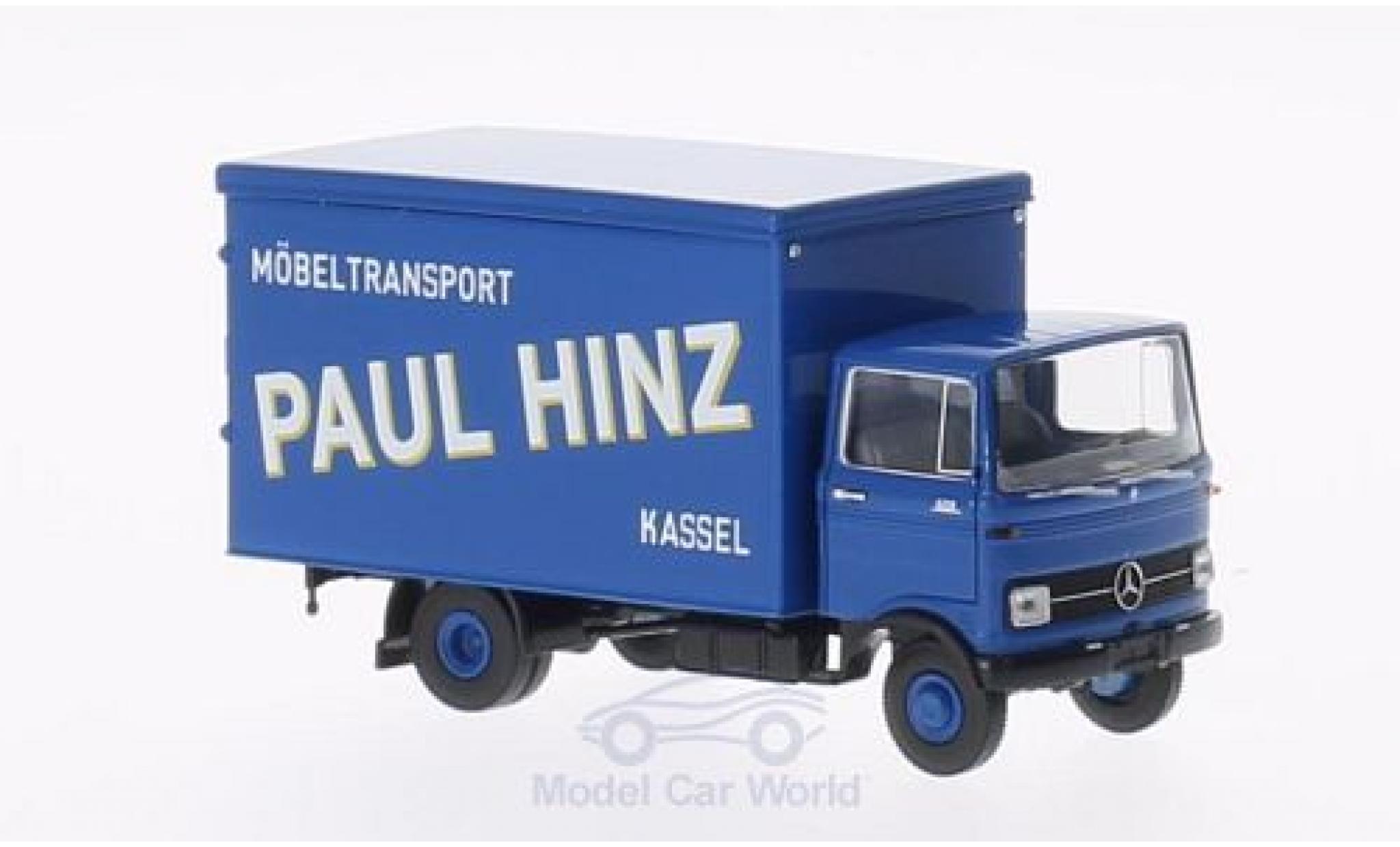 Mercedes LP 608 1/87 Brekina Paul Hinz Koffer