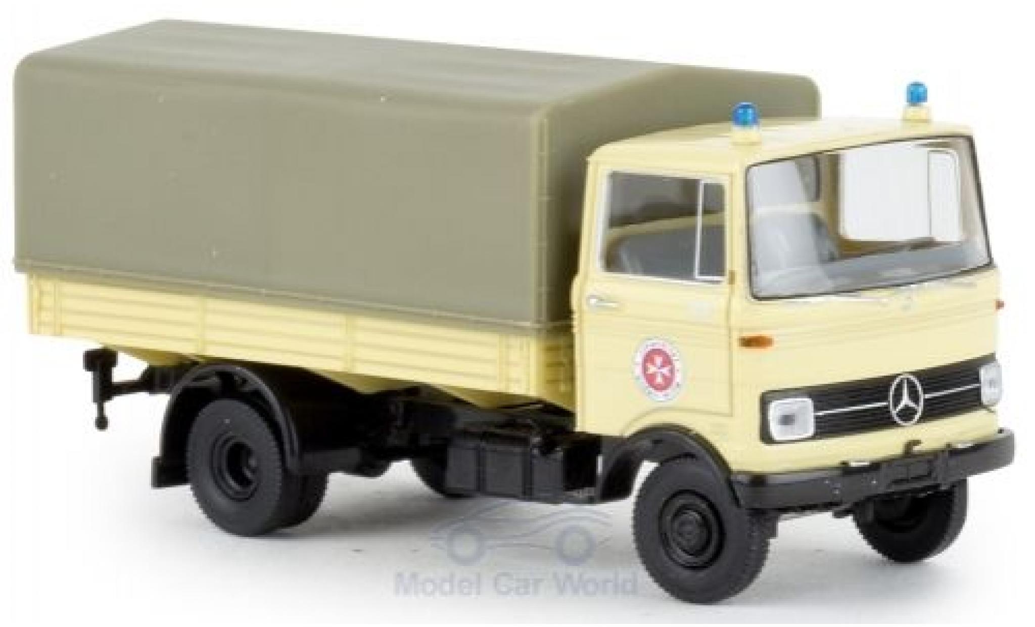 Mercedes LP 608 1/87 Brekina PP Johanniter 1965