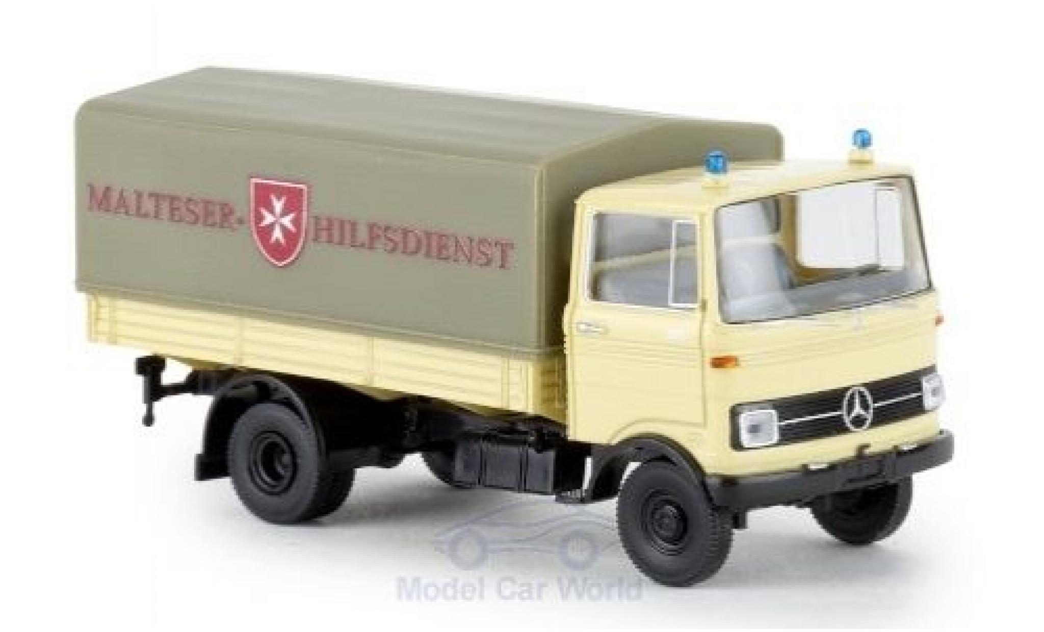 Mercedes LP 608 1/87 Brekina PP Malteser Hilfsdienst 1965