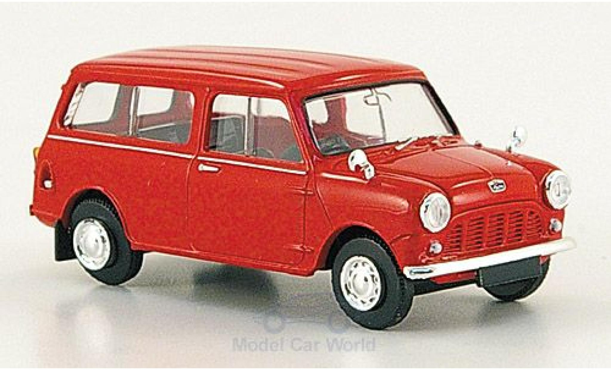 Mini Countryman 1/87 Brekina rouge