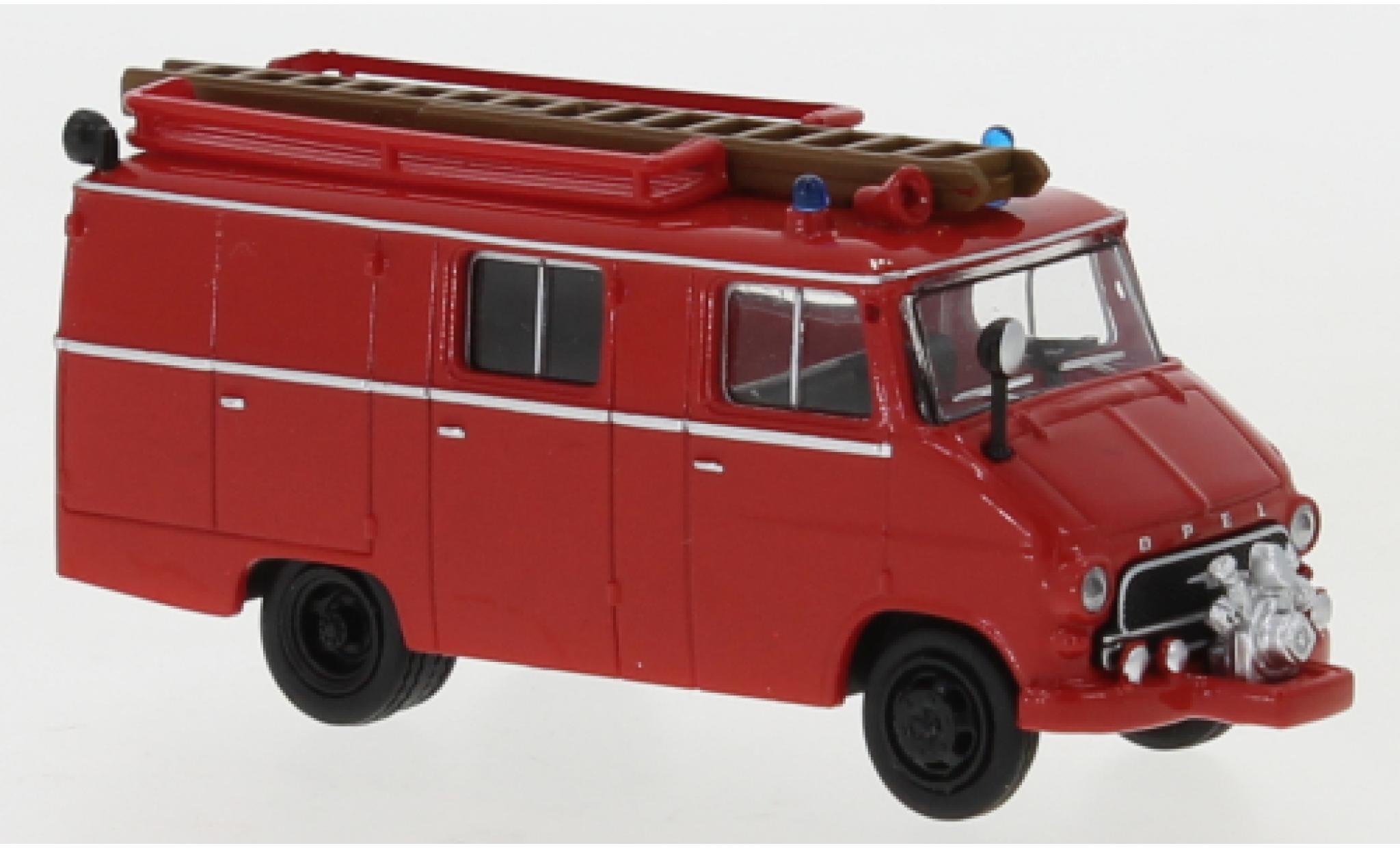 Opel Blitz 1/87 Brekina LF 8 rouge 1959