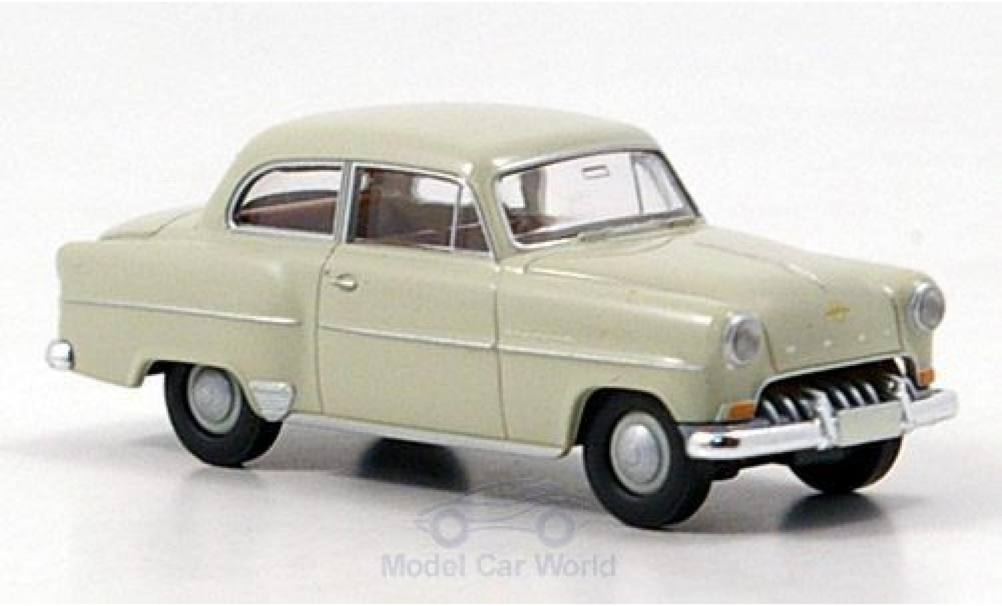 Opel Olympia 1/87 Brekina Rekord beige 1953