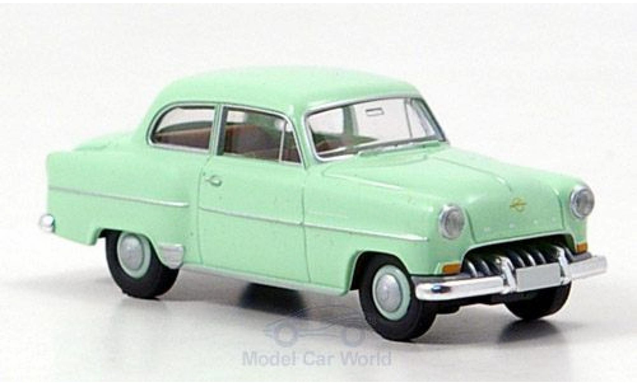 Opel Olympia 1/87 Brekina Rekord verte 1953