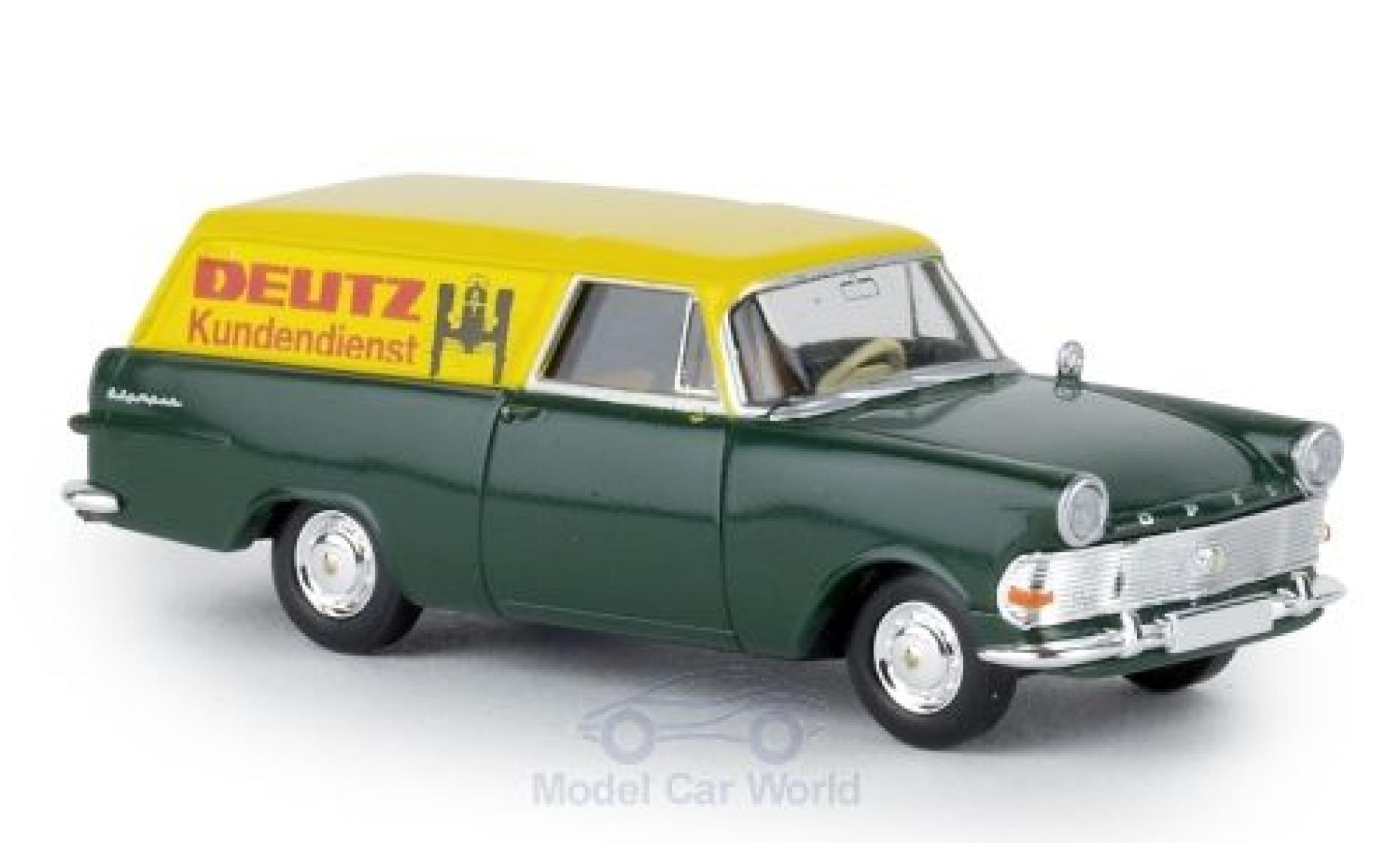 Opel Rekord 1/87 Brekina P2 Kasten Deutz Kundendienst