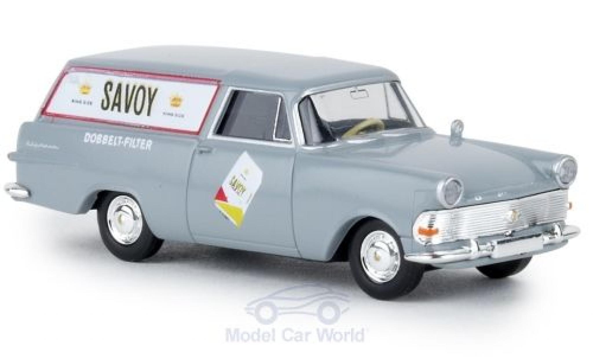 Opel Rekord 1/87 Brekina P2 Kasten Savoy TD