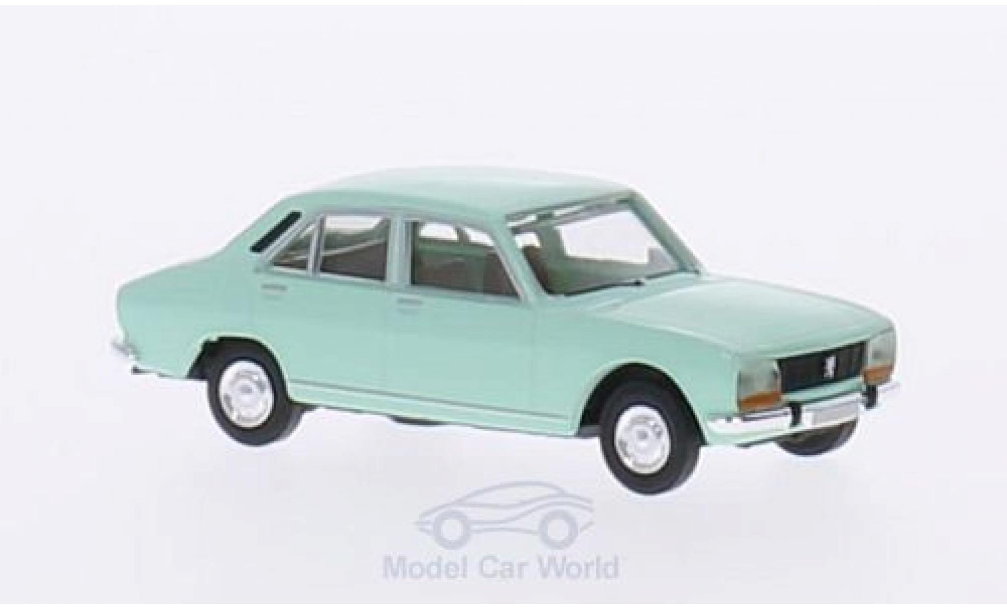Peugeot 504 1/87 Brekina verte