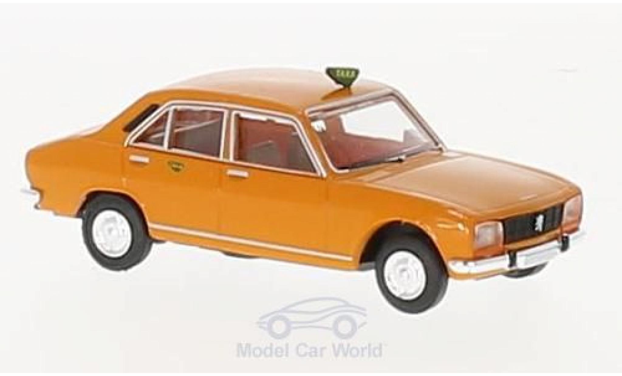 Peugeot 504 1/87 Brekina Taxa (DK)
